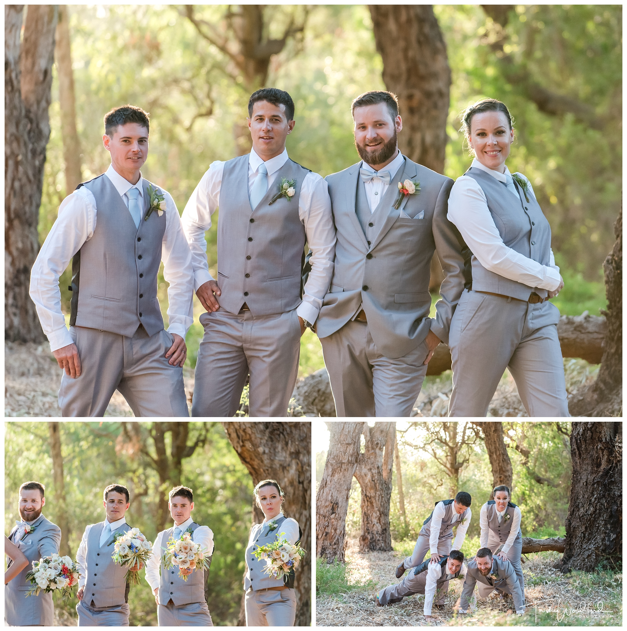 Yanchep Wedding Groom & Groomsmen