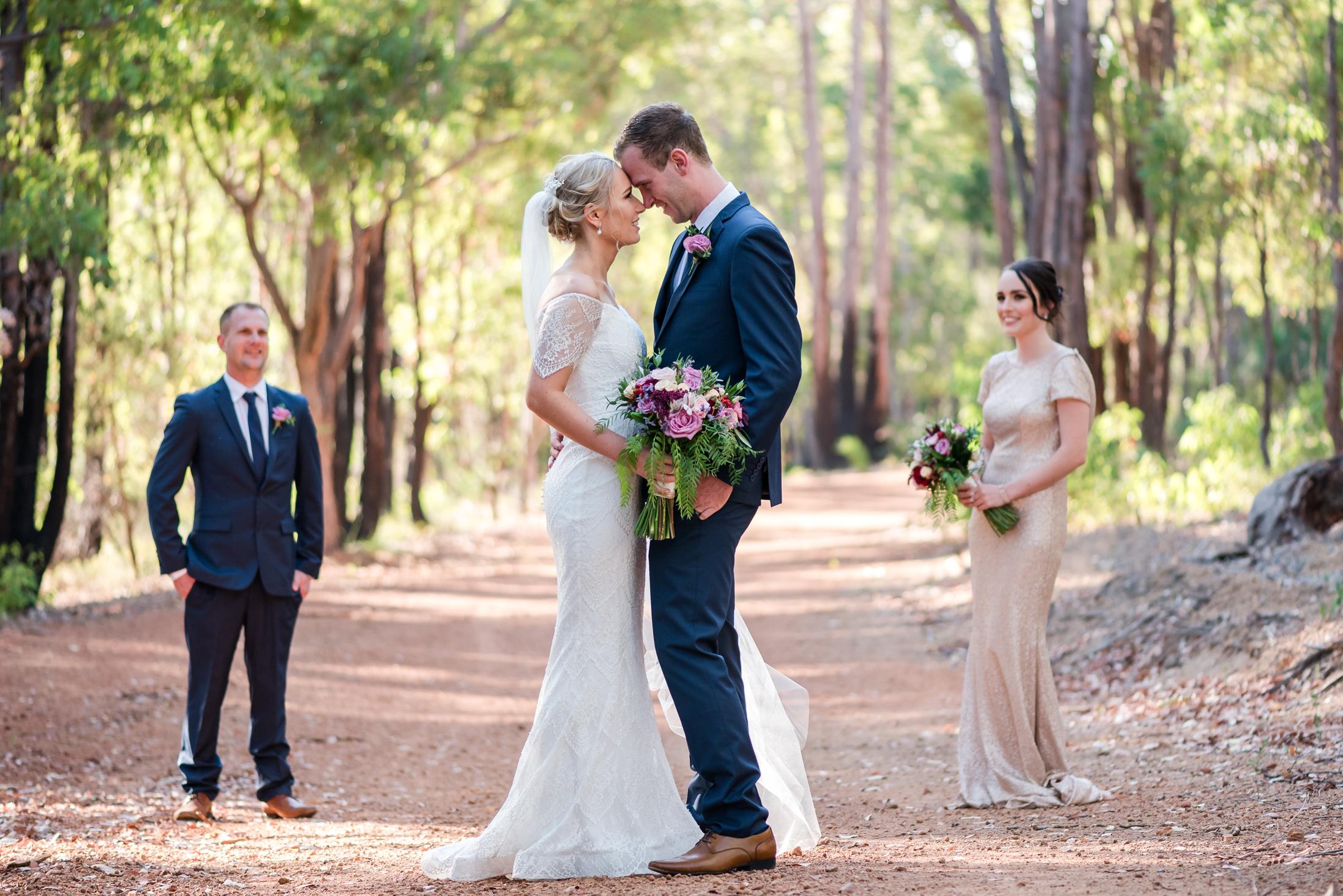 Bride and Groom Araluen Golf Resort