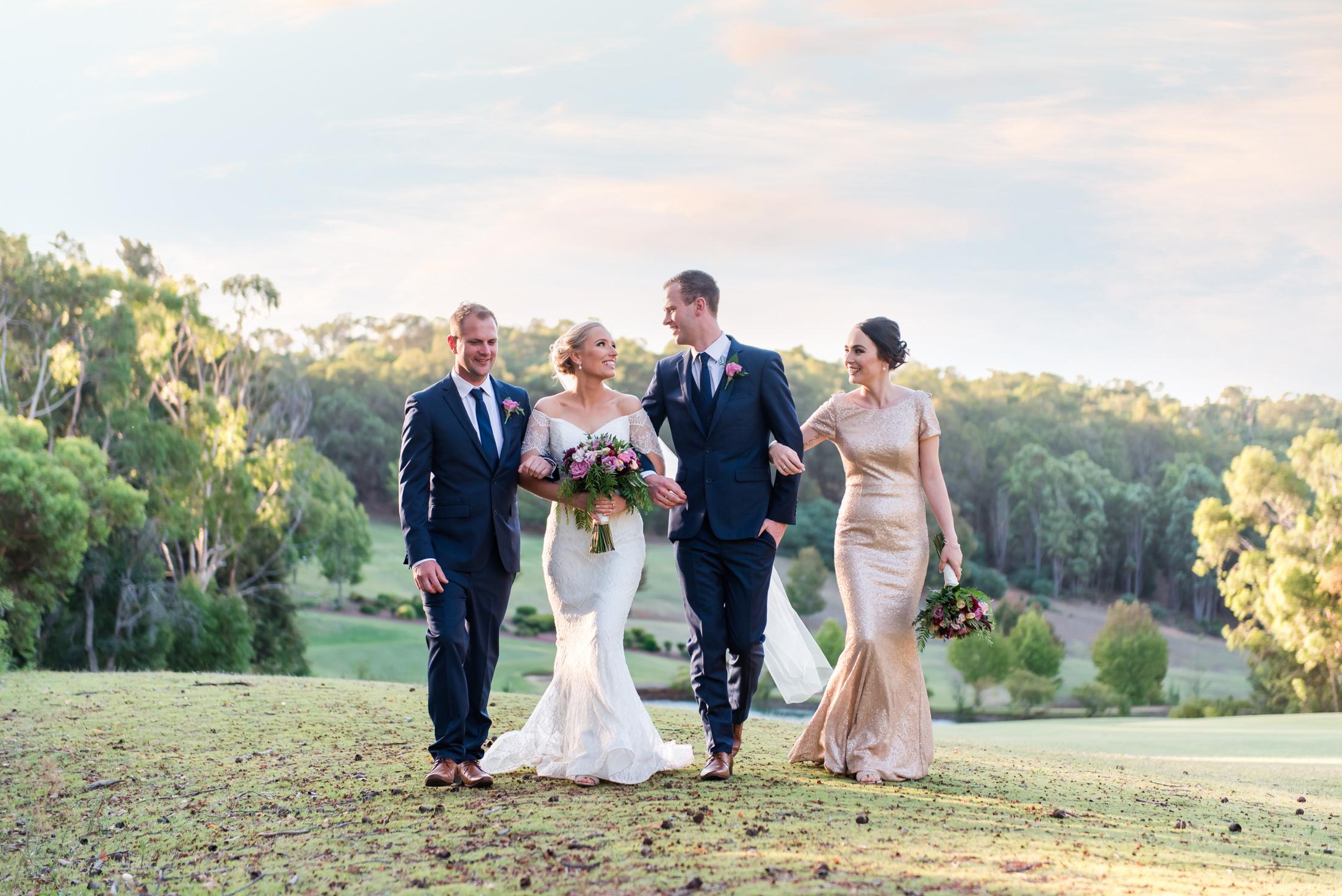 Bridal Party at Araluen Golf Resort