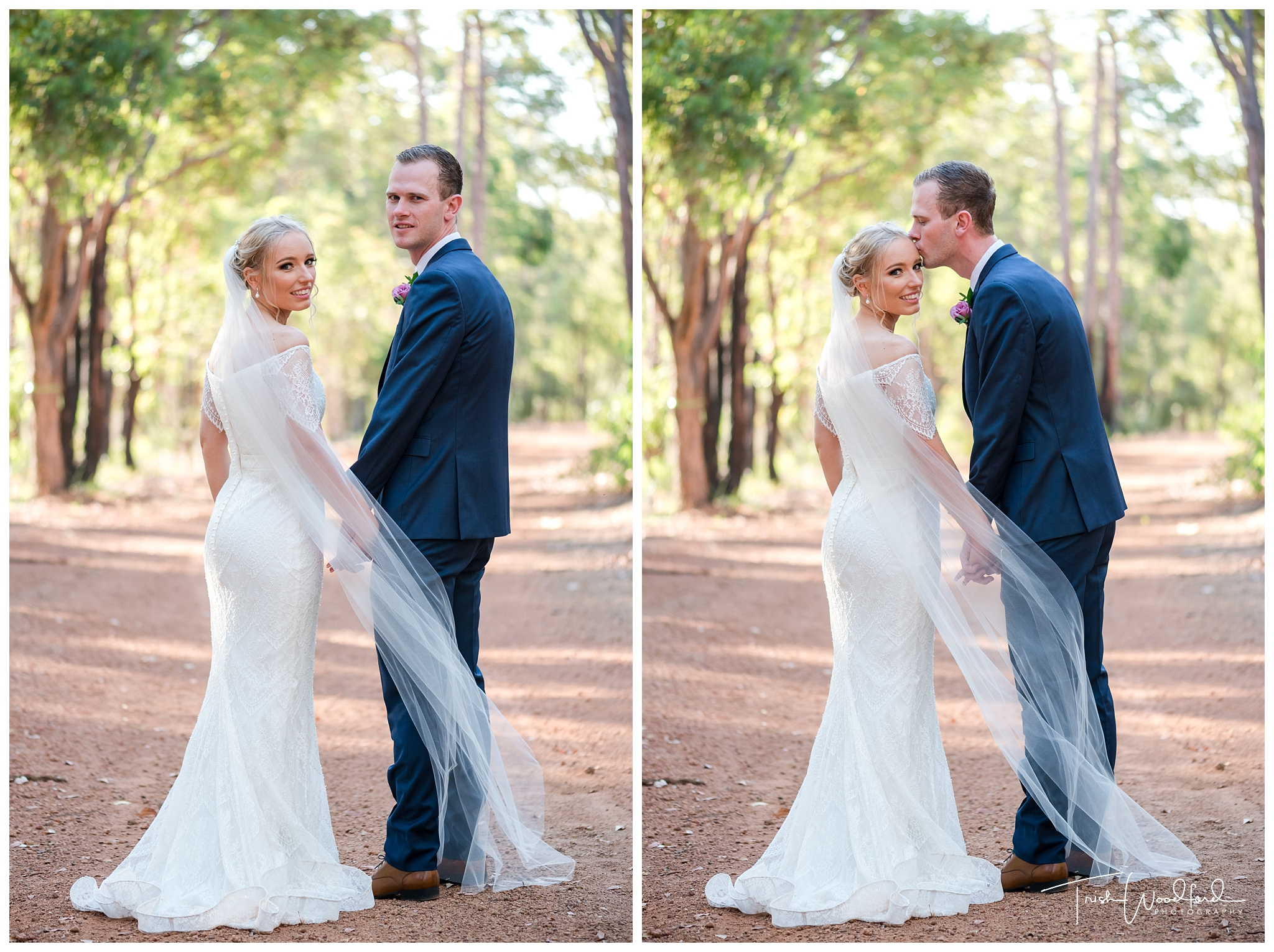 Araluen Golf Course Wedding Portraits