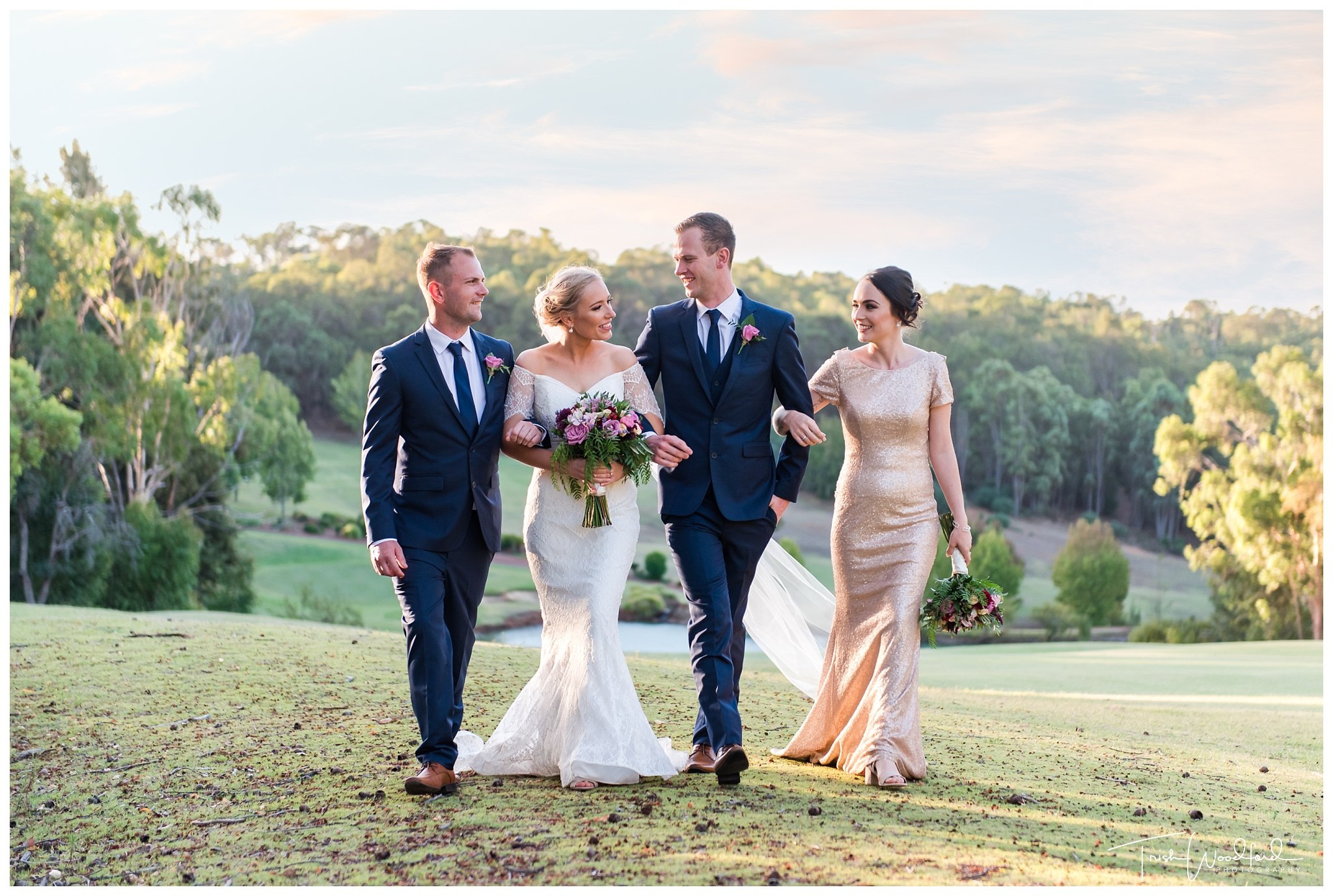 Bridal Party Araluen Golf Course