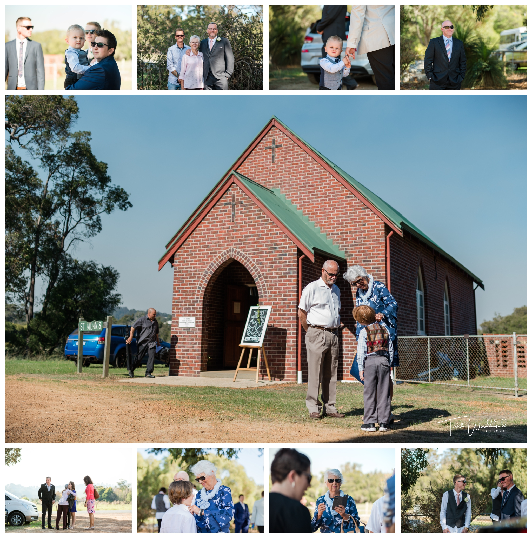 St Aidans Church Wedding Dardanup