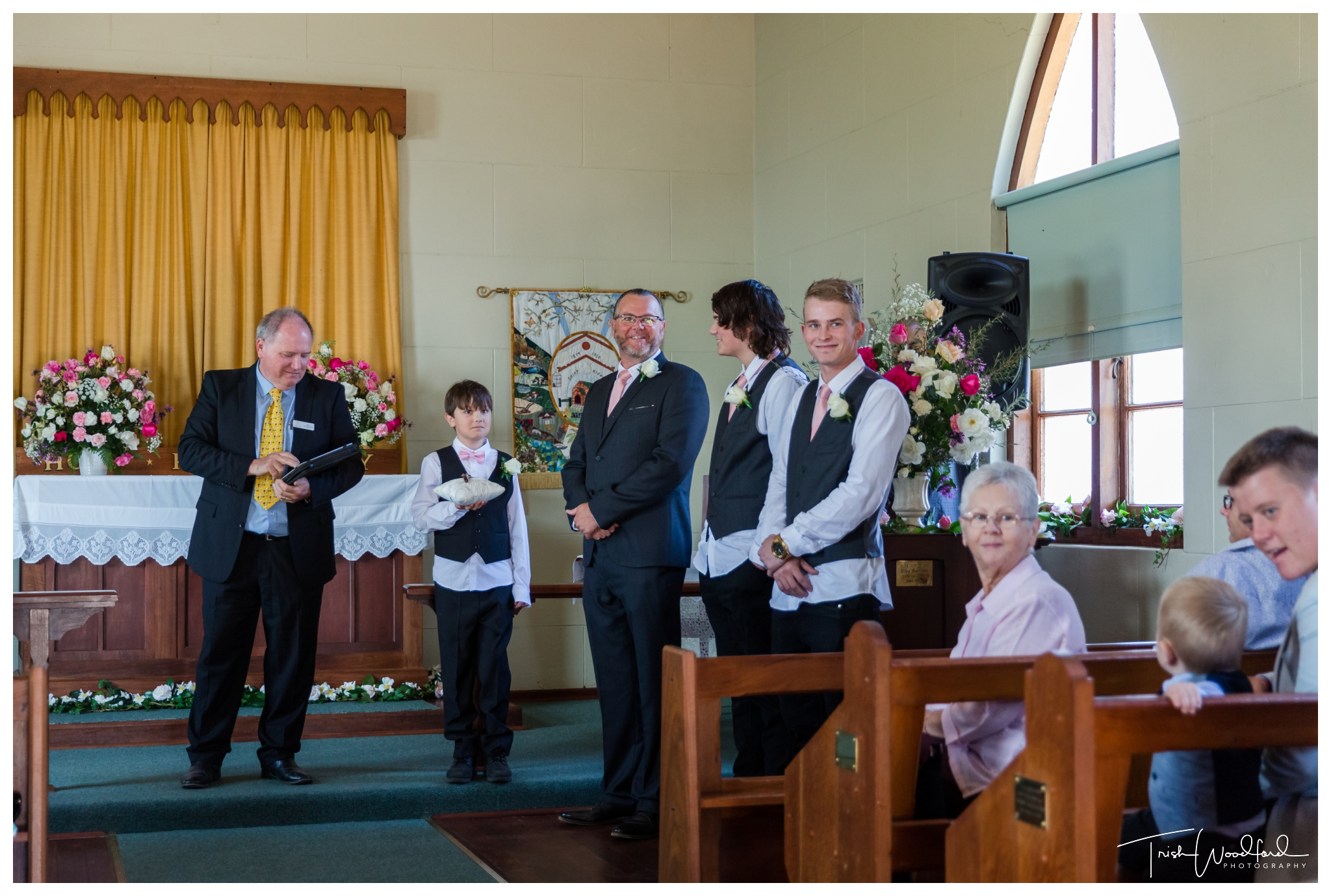 St Aidans Church Wedding Ferguson Valley