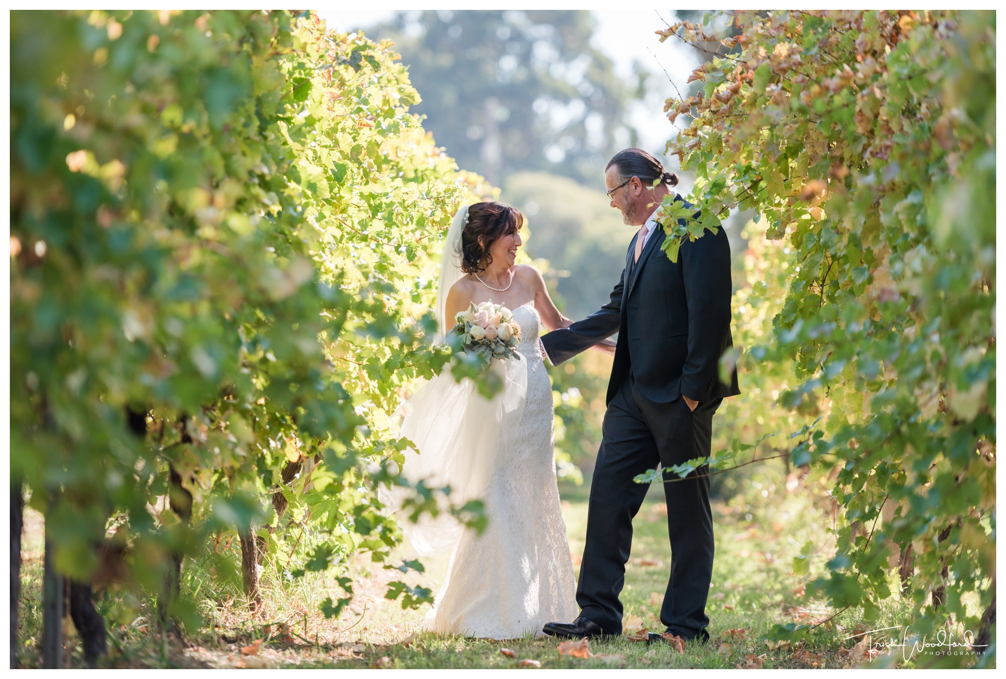 St Aidans Winery Wedding Portrait