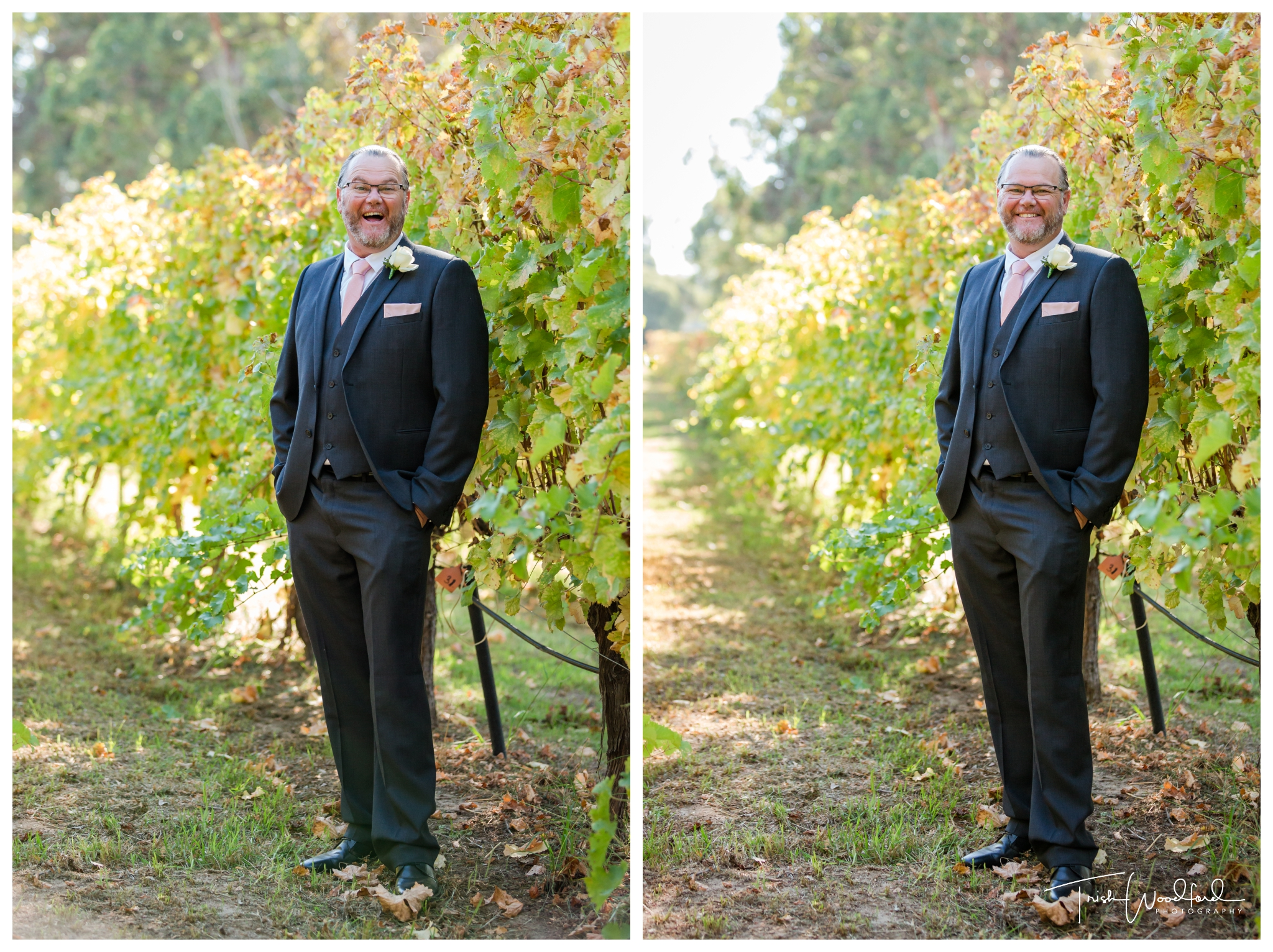 Groom Portrait St Aidans Winery