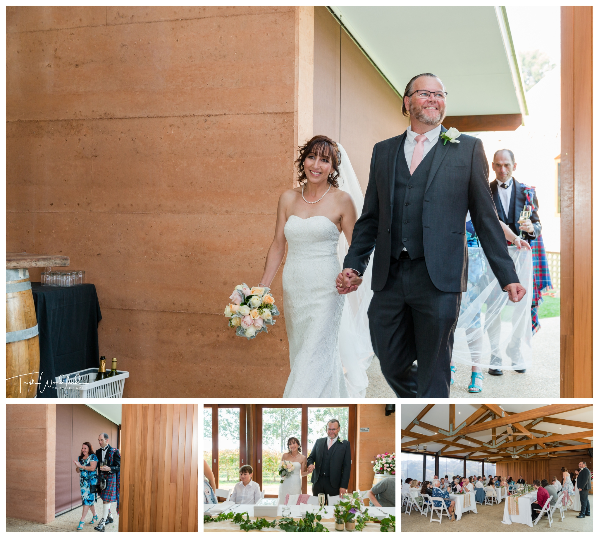 St Aidans Winery Wedding Reception