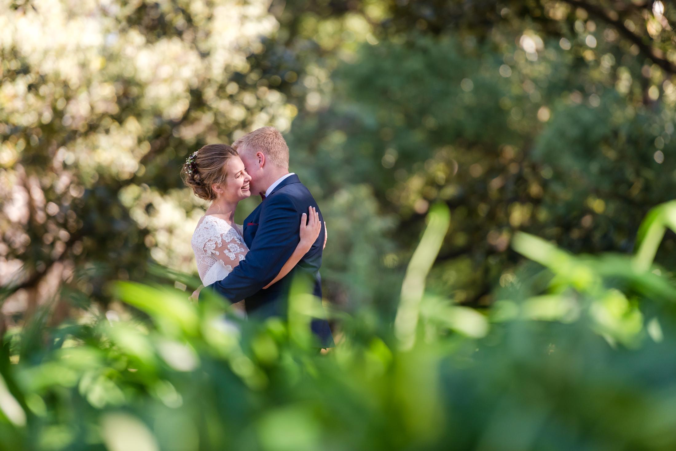 Hyde Park Wedding Portrait