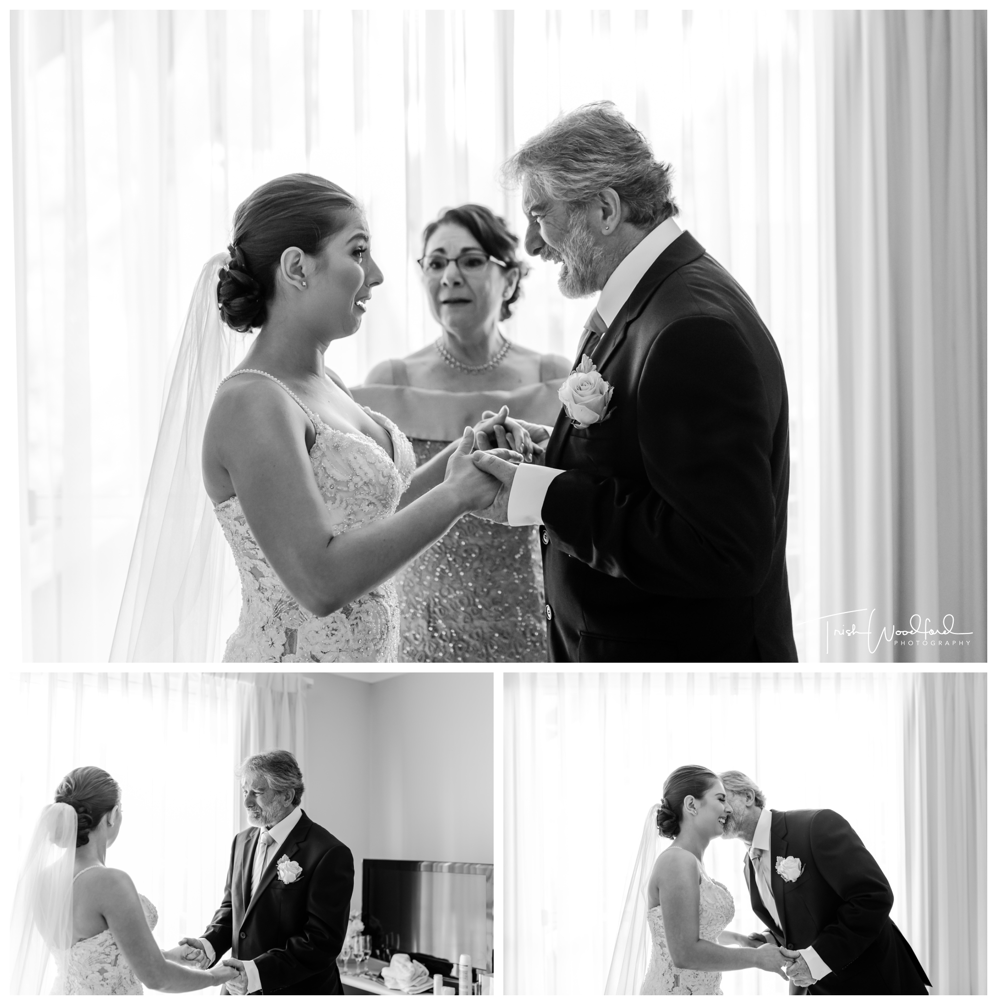 Bride & Dad Mandurah Wedding