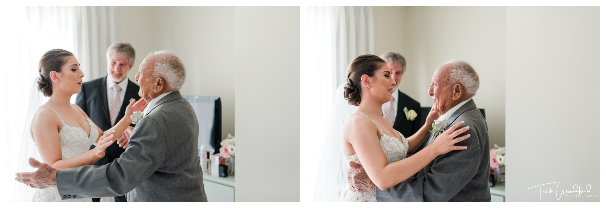 Bride & Grandfather Mandurah Wedding