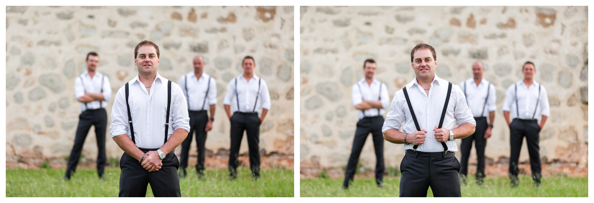 Groom and Groomsmen Mandurah Wedding