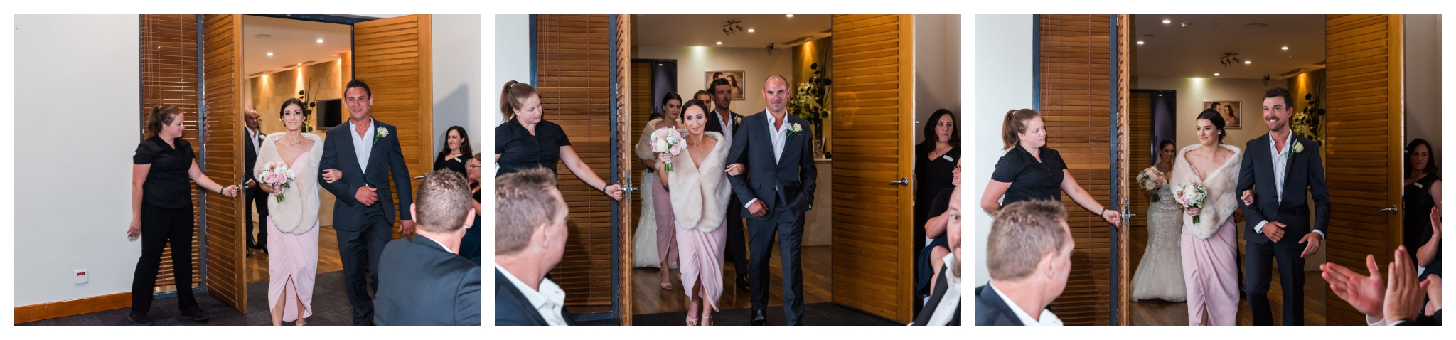 Bridal Party Entrance Mandurah Quay