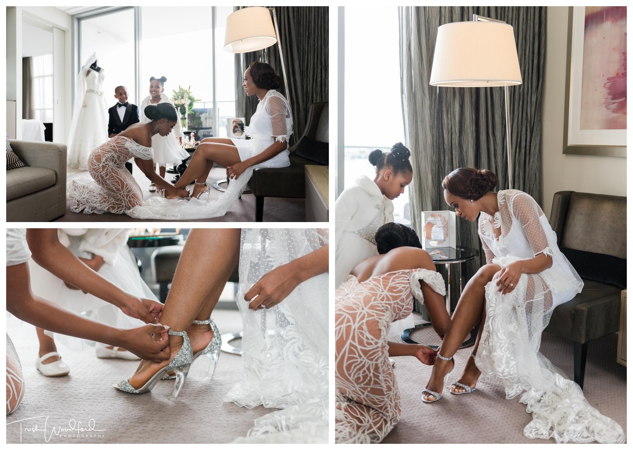 Bride Getting Ready Perth Wedding
