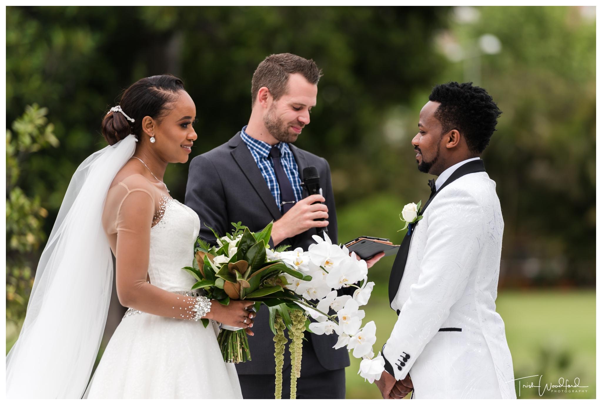 Queens Garden Wedding Ceremony