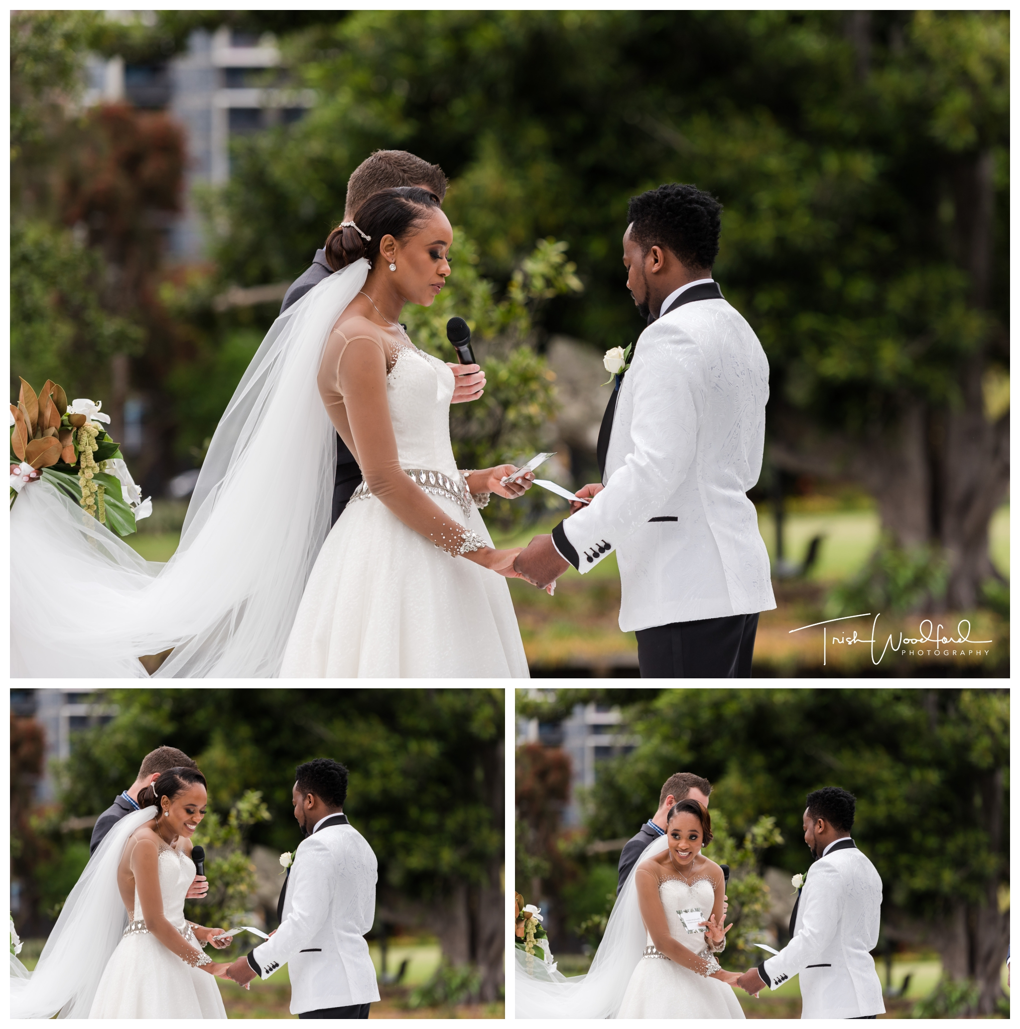 Queens Gardens Wedding Ceremony