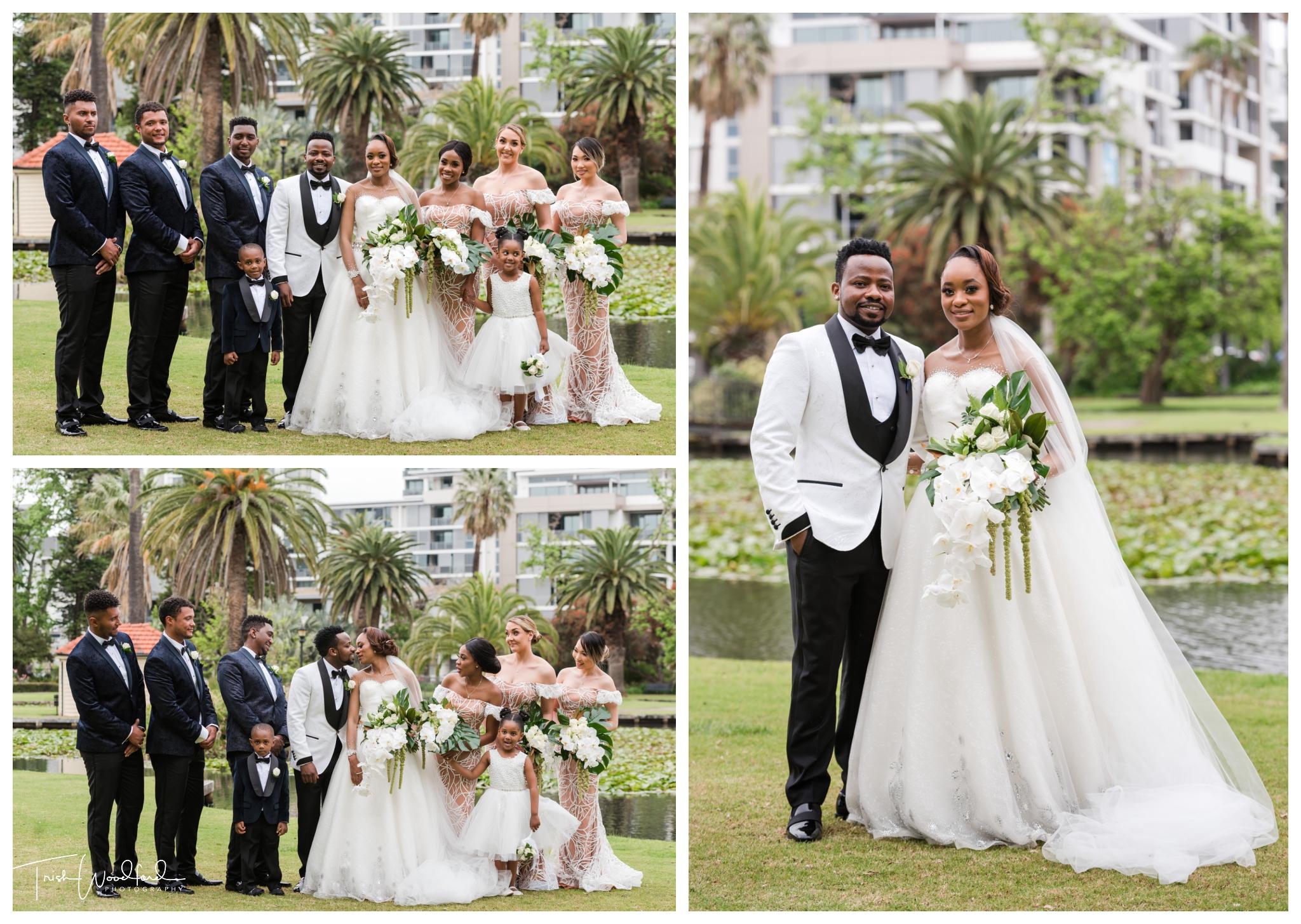 Bridal Party Queens Gardens