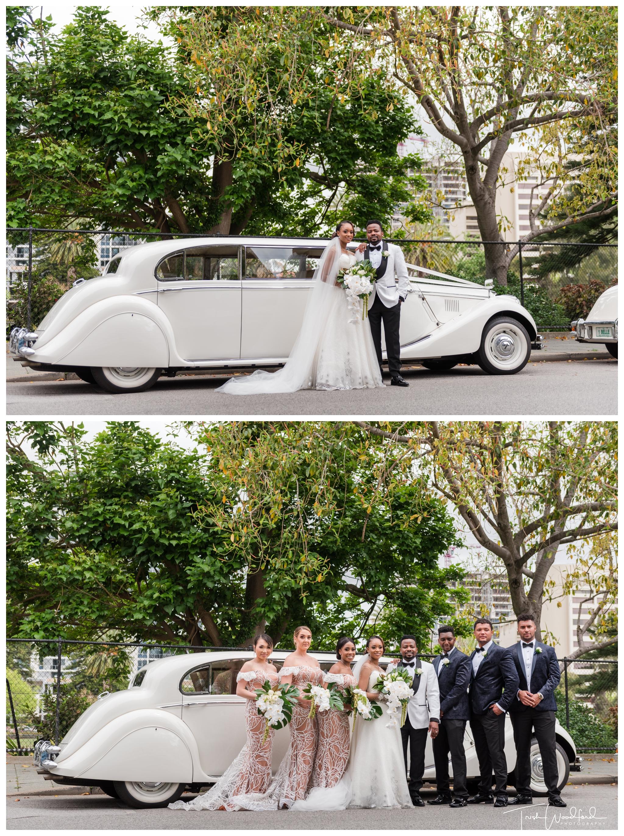 Limo Queens Gardens Wedding