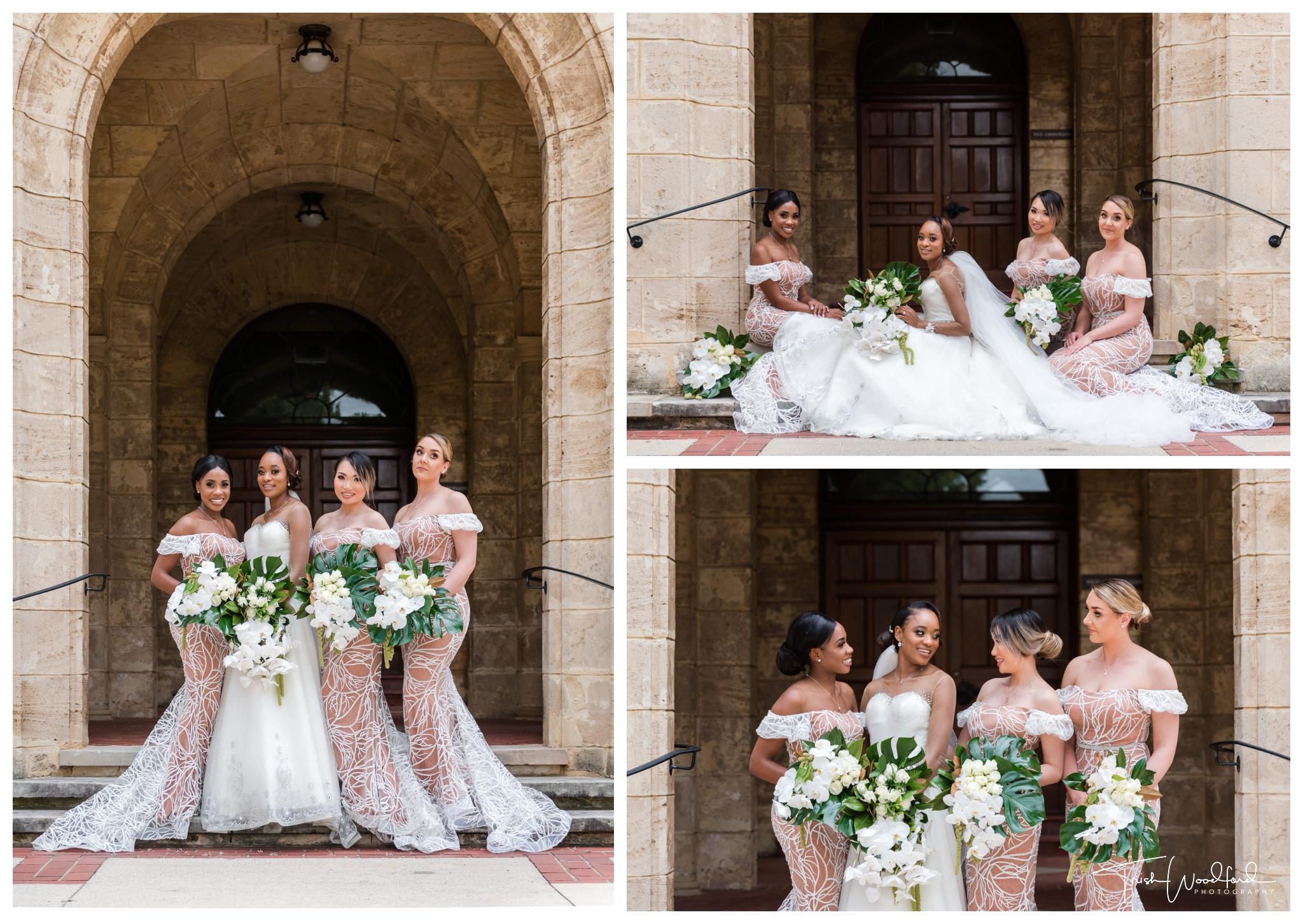Bride and Bridesmaids UWA