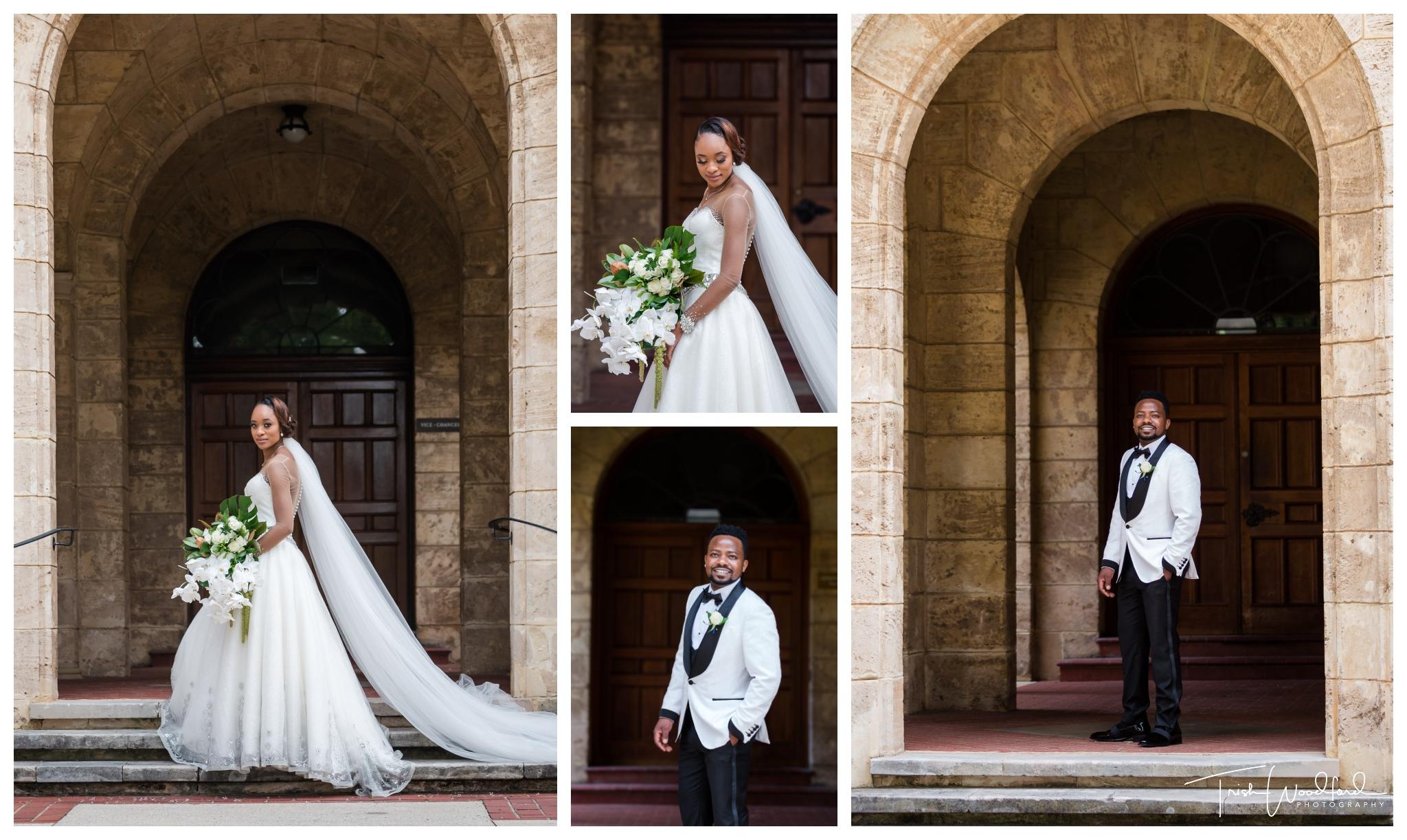 Bride and Groom UWA Wedding