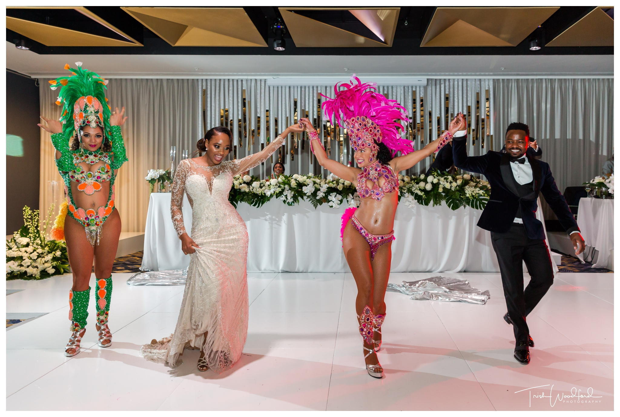 Sambrazil Dancers Wedding Beaumonde on the Point