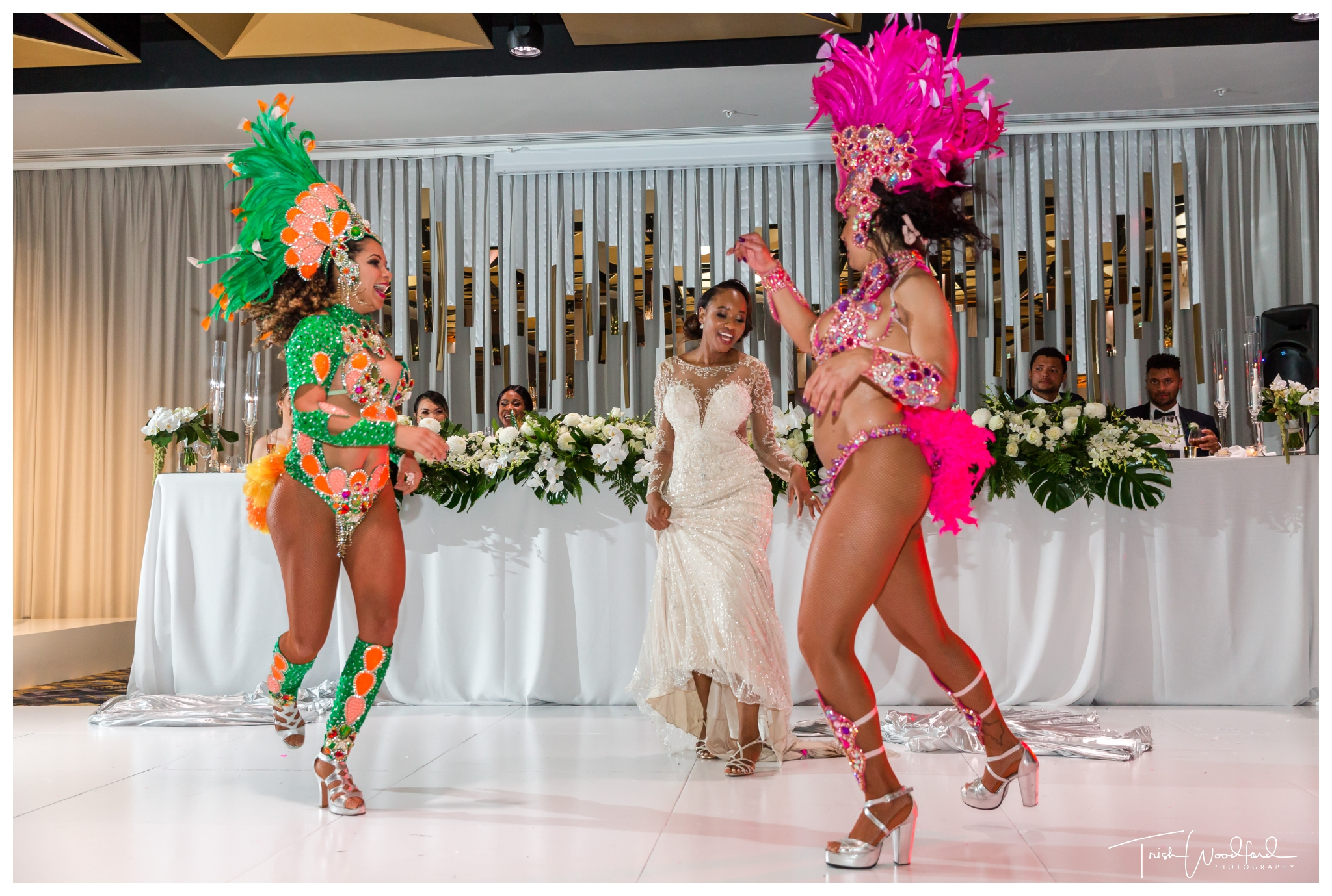 Sambrazil Dancers Perth Wedding