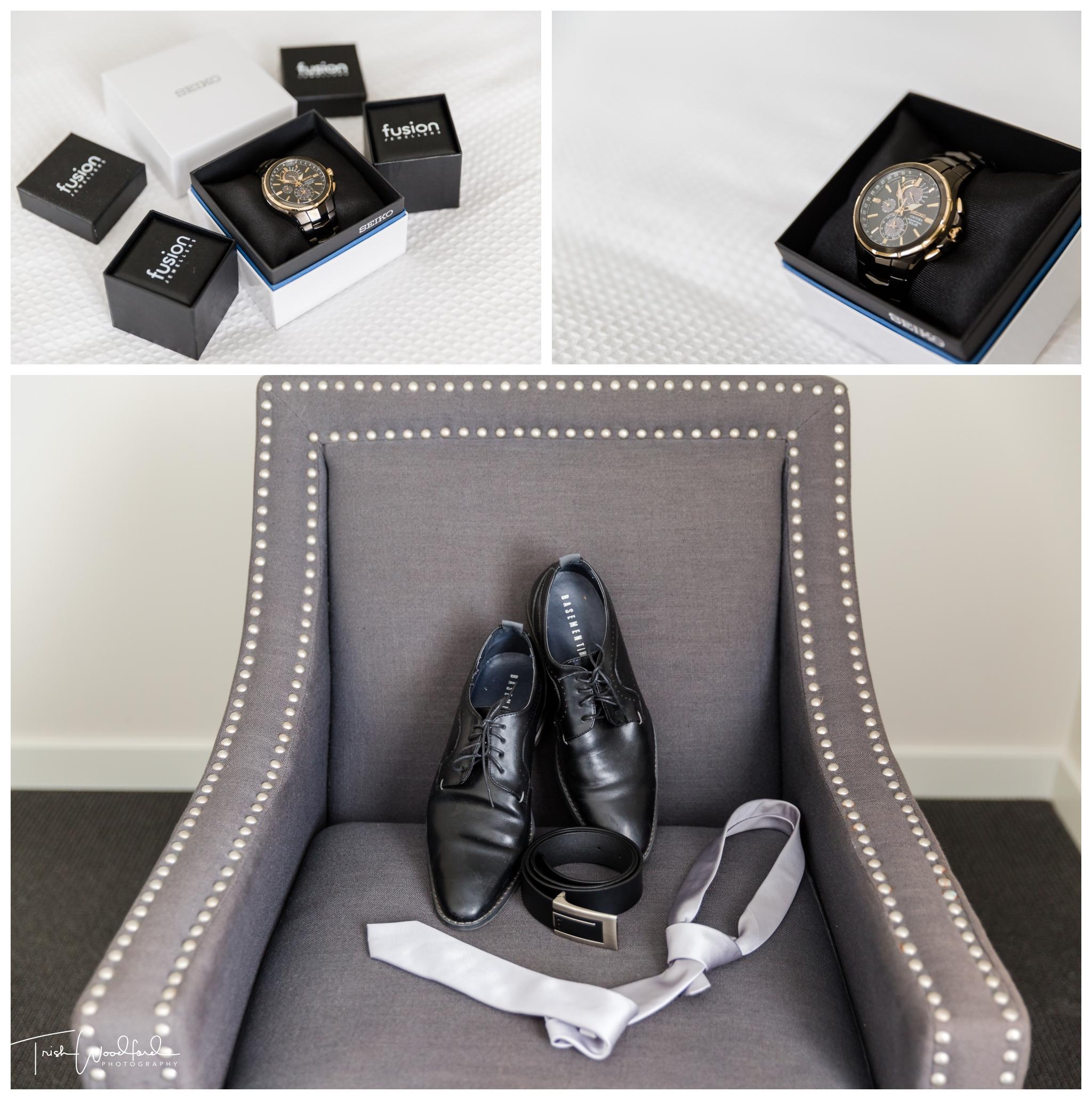 Groom Details Yallingup Wedding