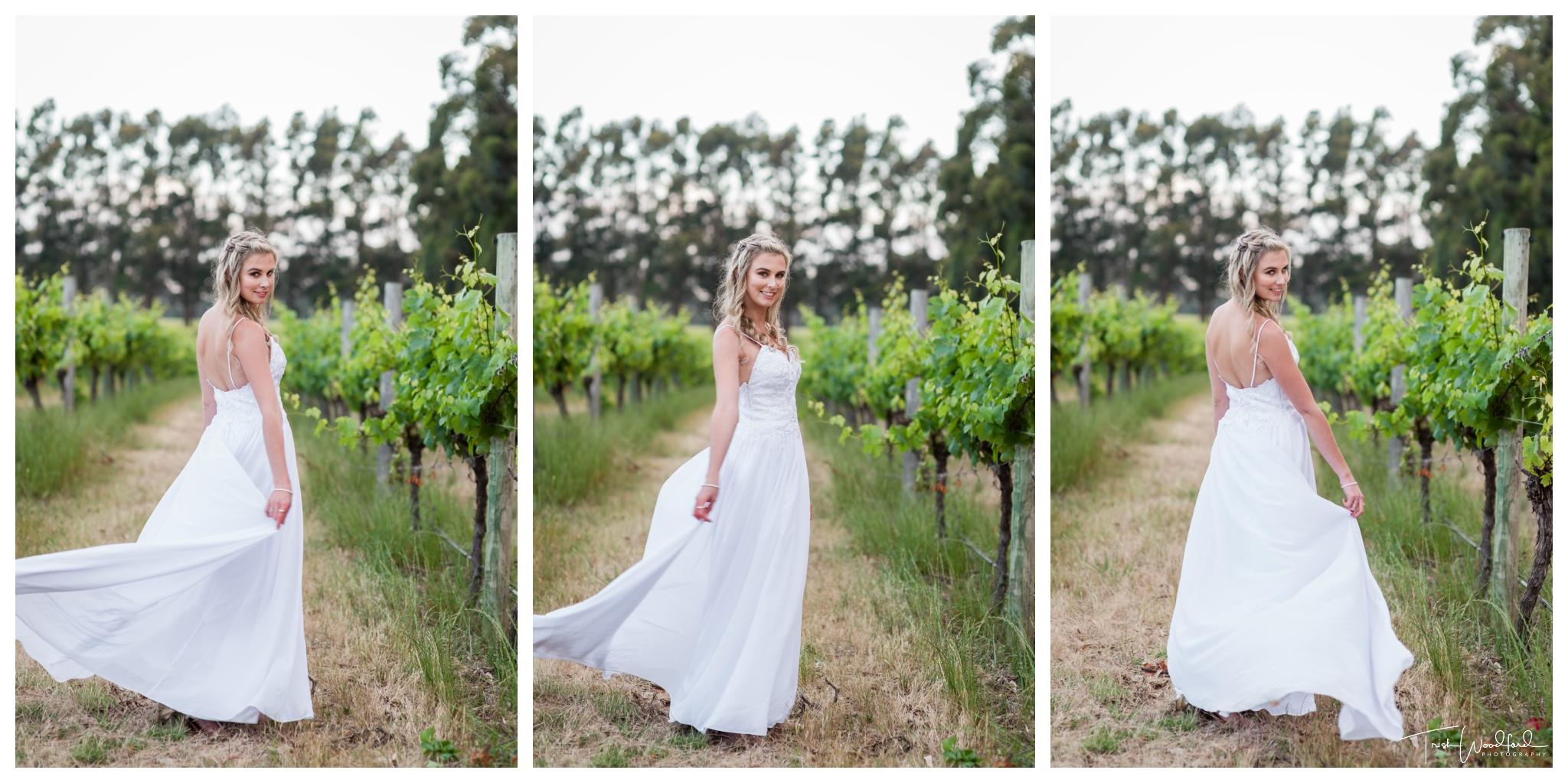 Bride Vineyard Yallingup