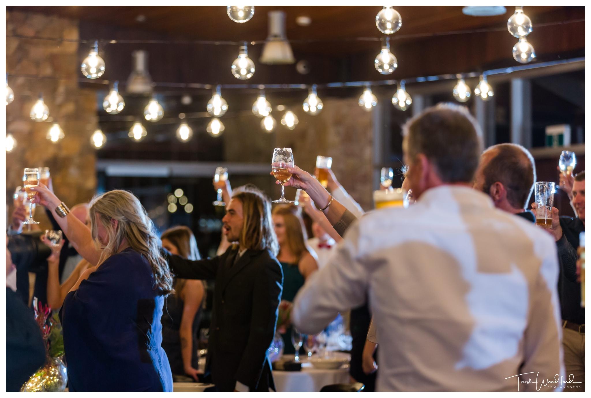 Black Brewing Co Wedding Reception