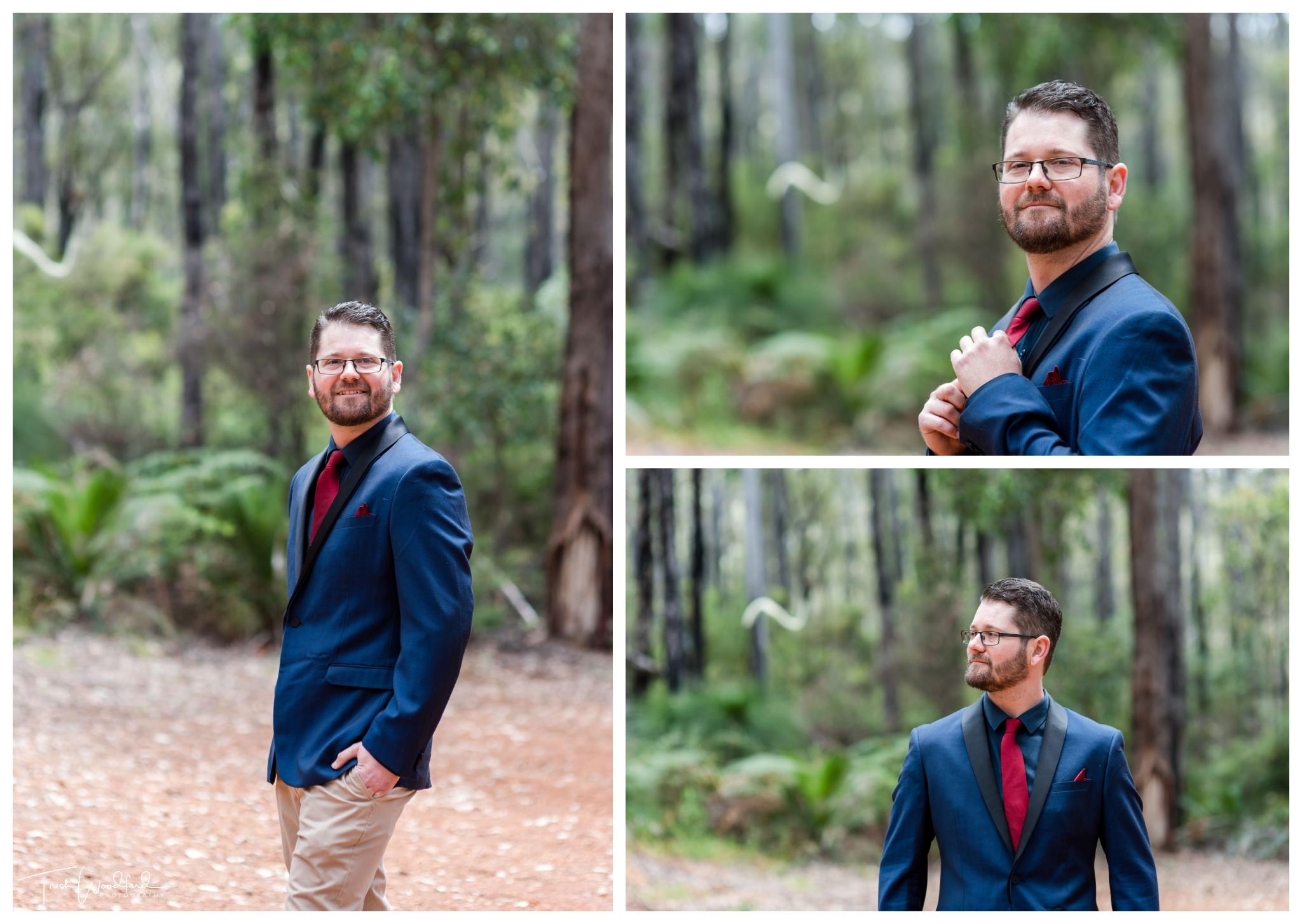 Groom Nanga Bush Camp Wedding