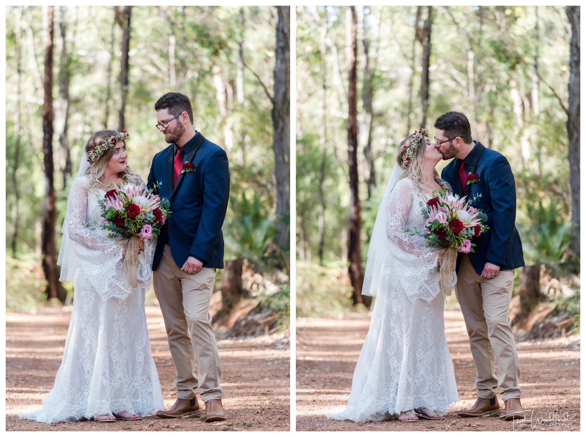 Bridal and Groom Nanga Bush Camp Wedding