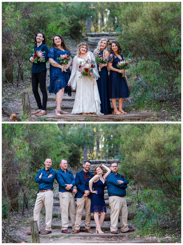 Bridal Party Nanga Bush Camp Wedding