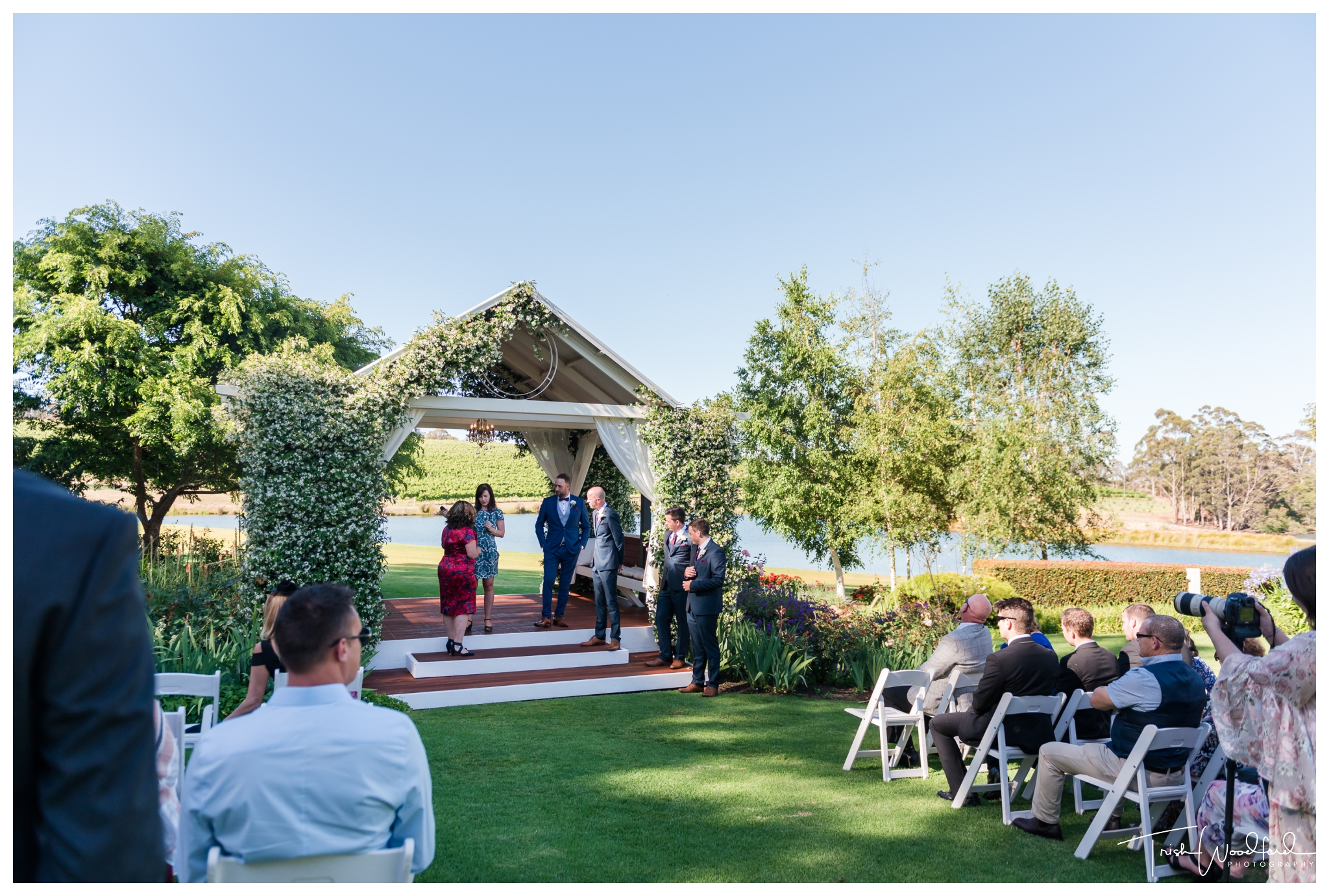 Aravina Estate Wedding Ceremony