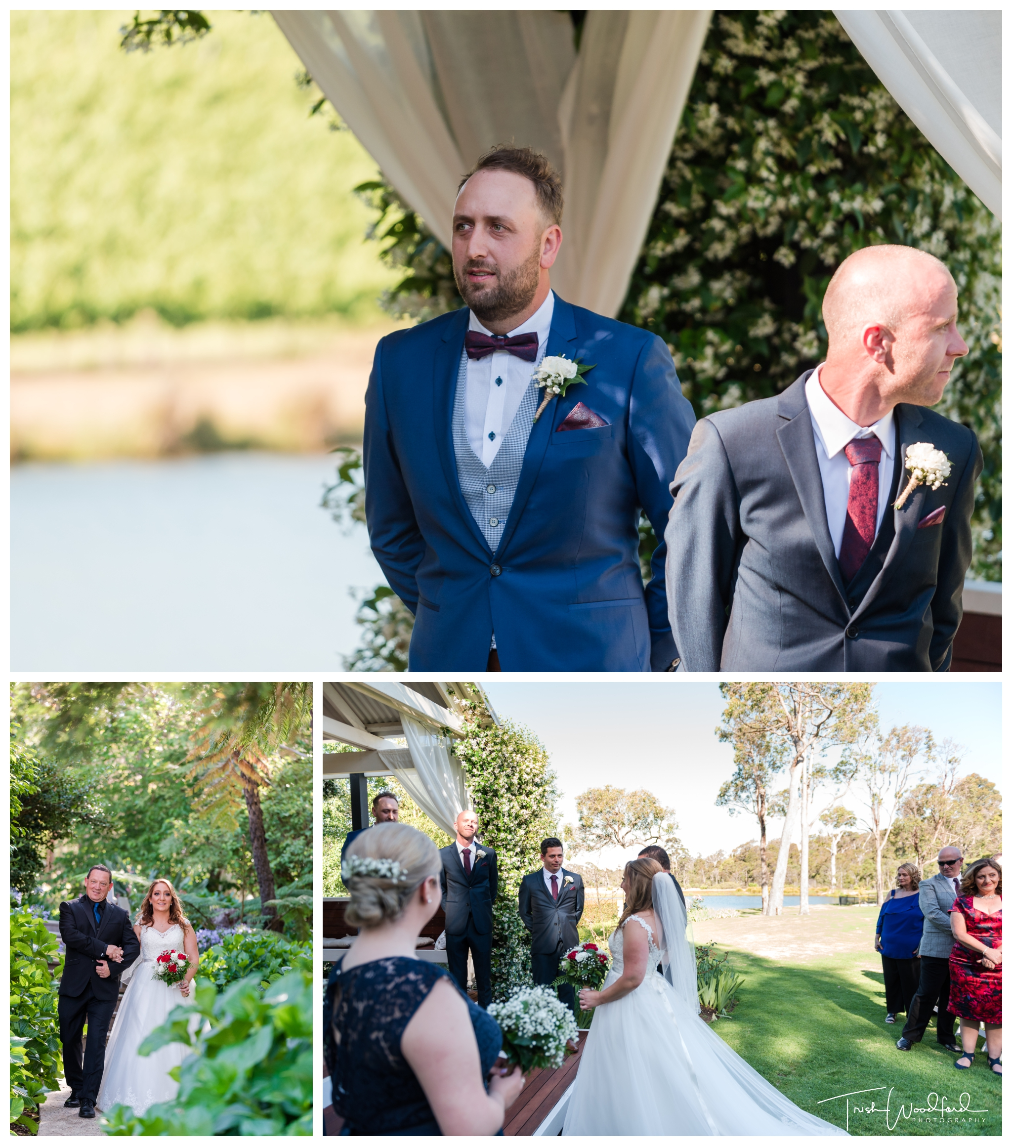 Aravina Estate Wedding Ceremony Yallingup