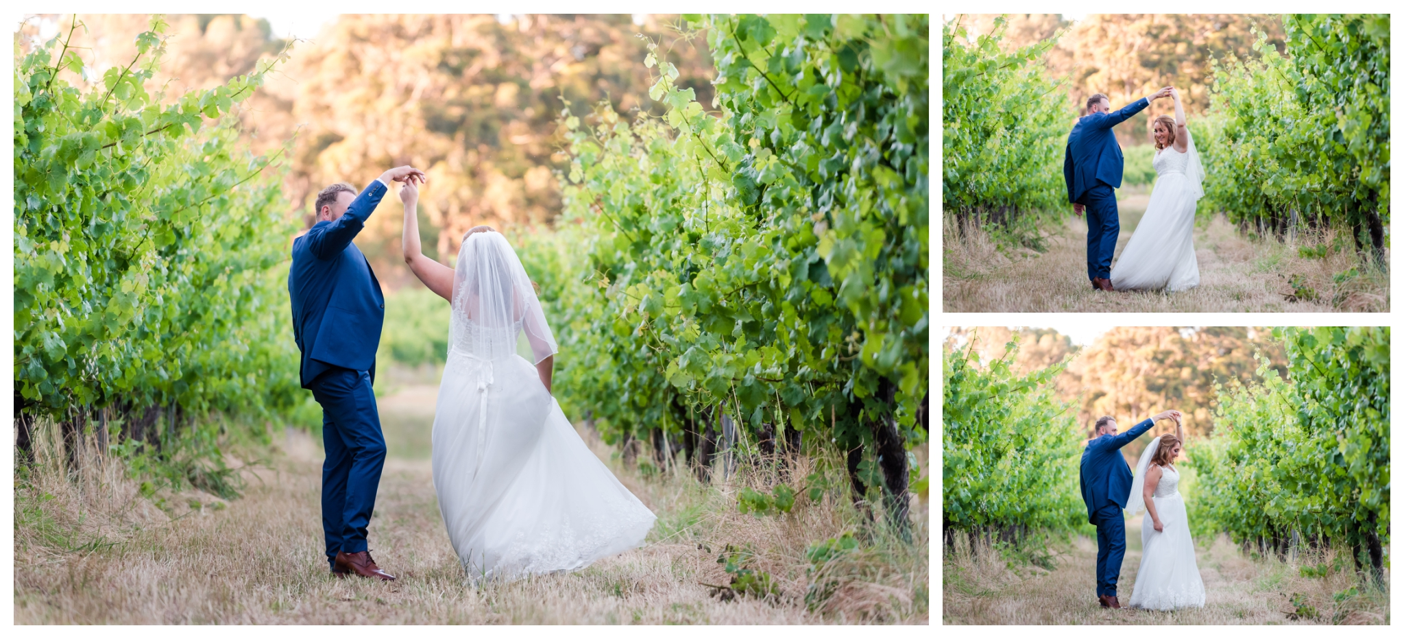Bride and Groom Aravina Estate Wedding