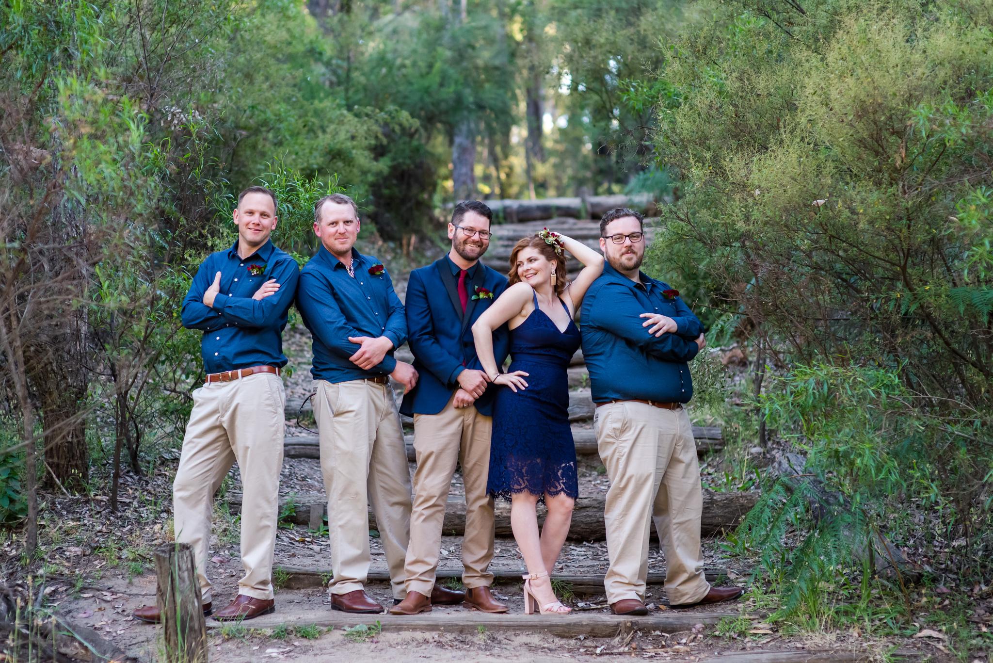 Bridal Party Nanga Bush Camp