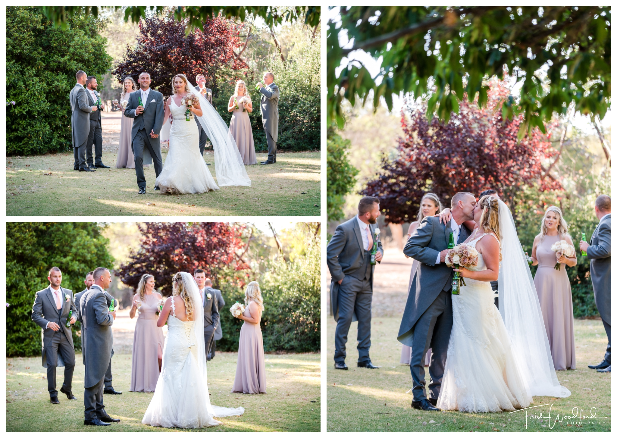 Bridal Party Fairbridge Village Wedding