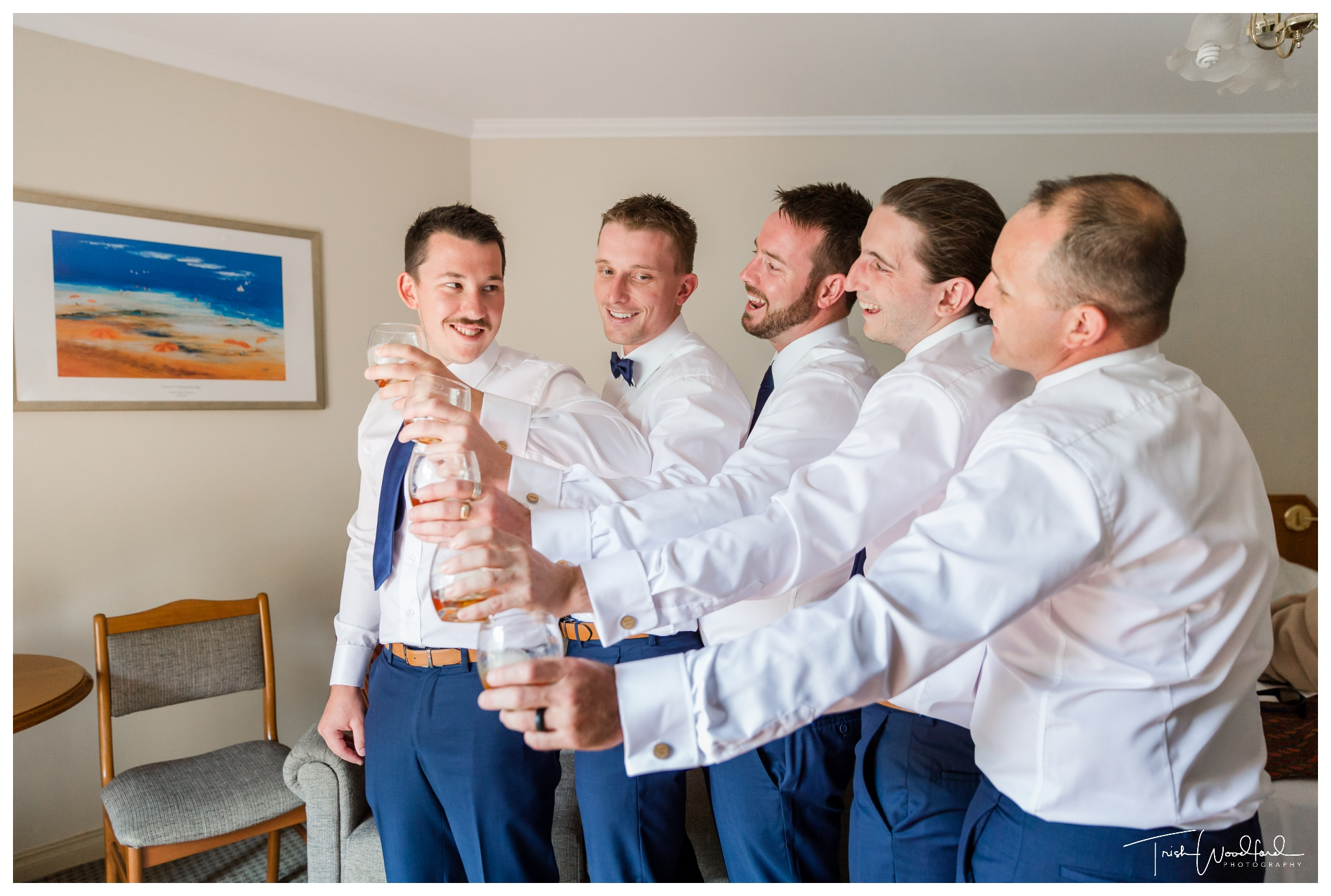 Groom and Groomsmen Yallingup Wedding