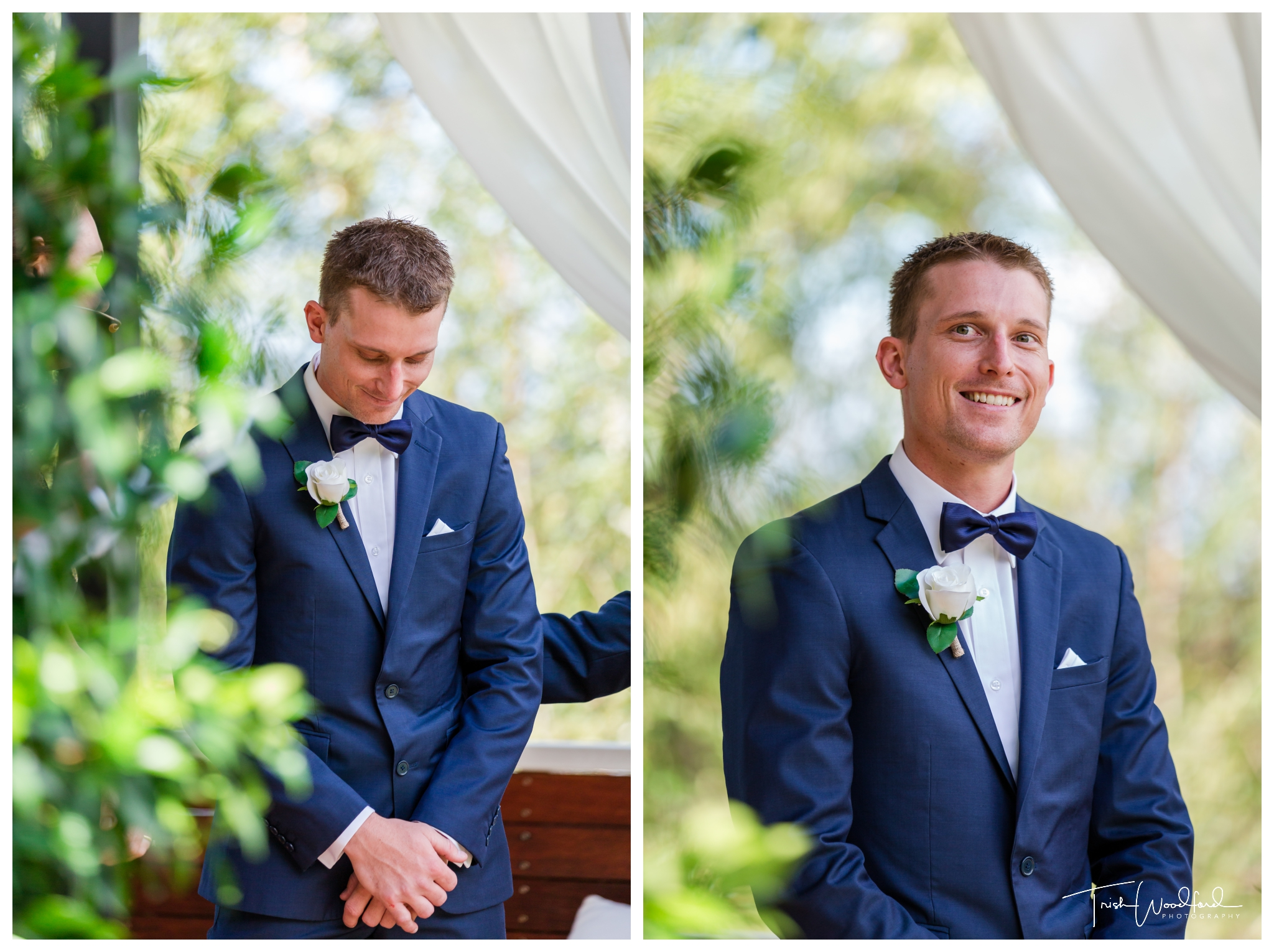 Groom Aravina Estate Wedding