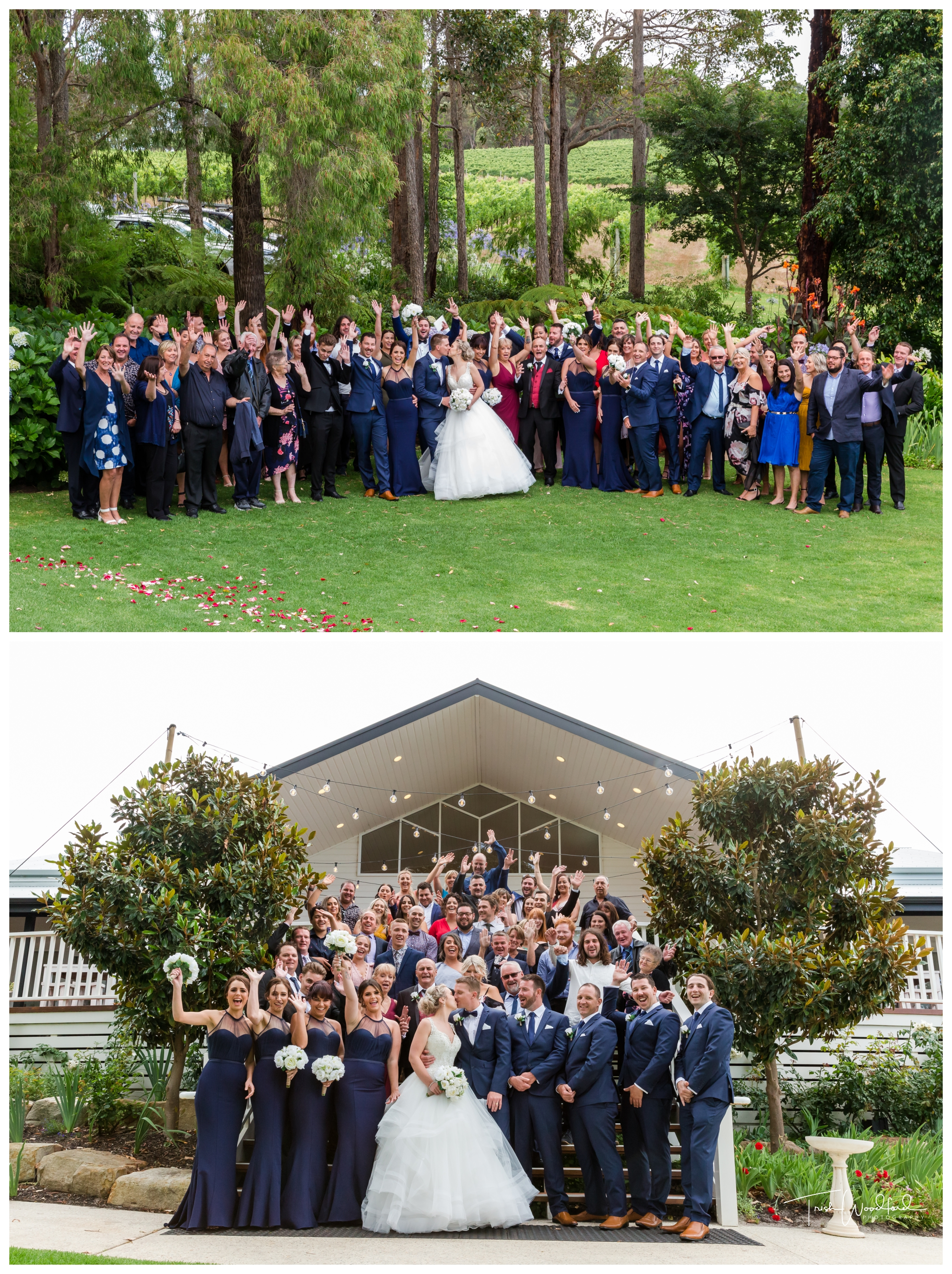 Group Wedding Photo Aravina Estate