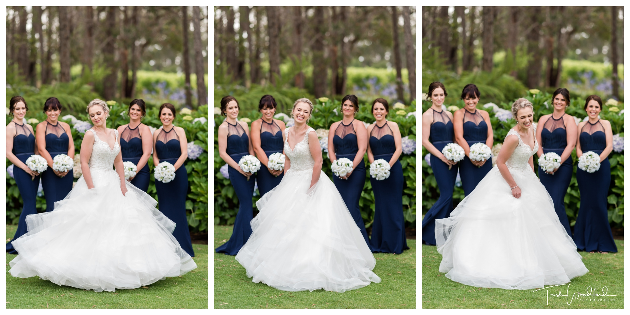 Bride and Bridesmaids Aravina Estate