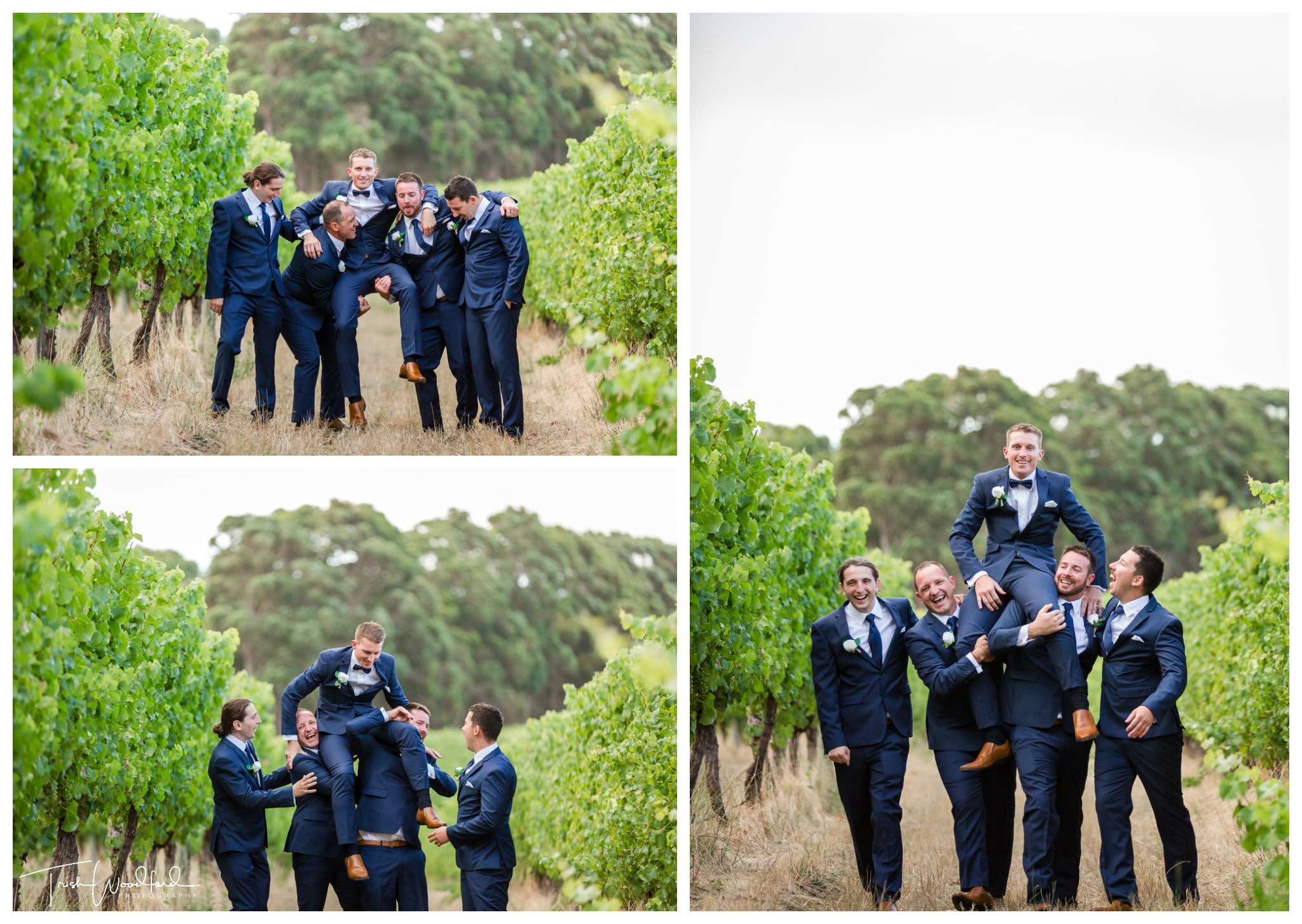 Bridal Party Aravina Estate Yallingup