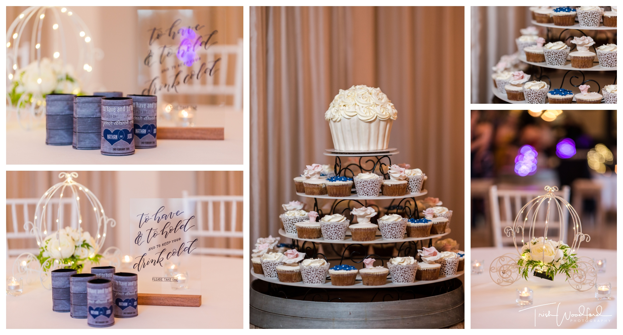 Aravina Estate Wedding Reception Details