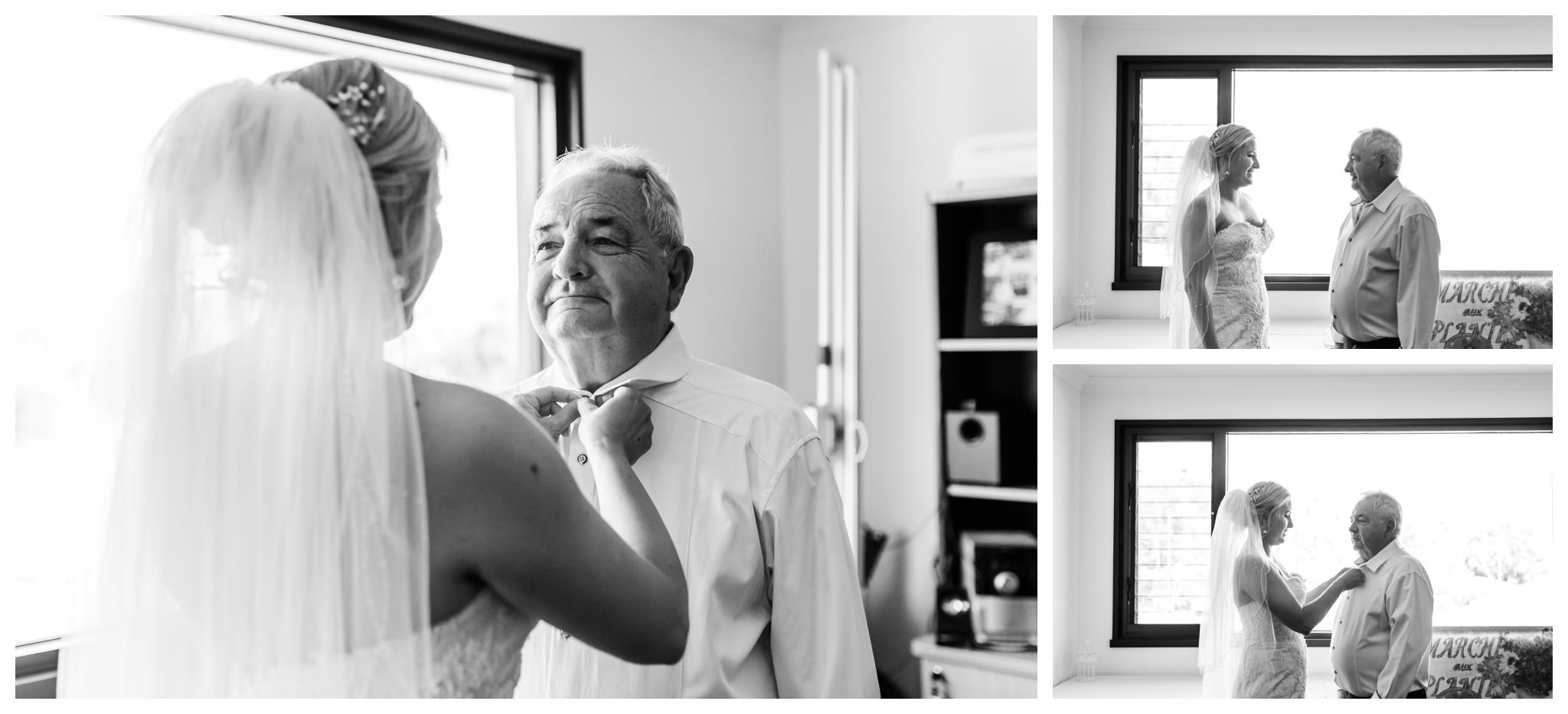 bride and dad masonmill