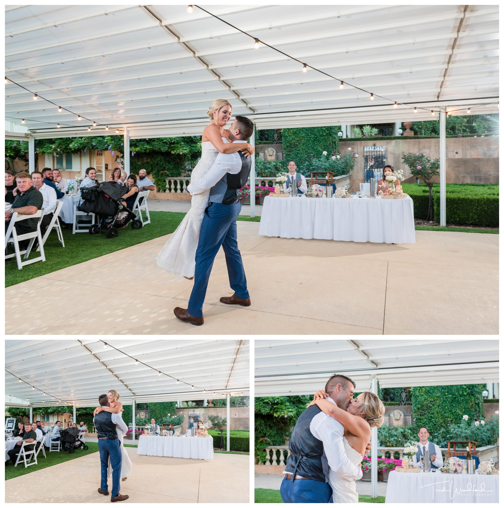 wedding dance masonmill