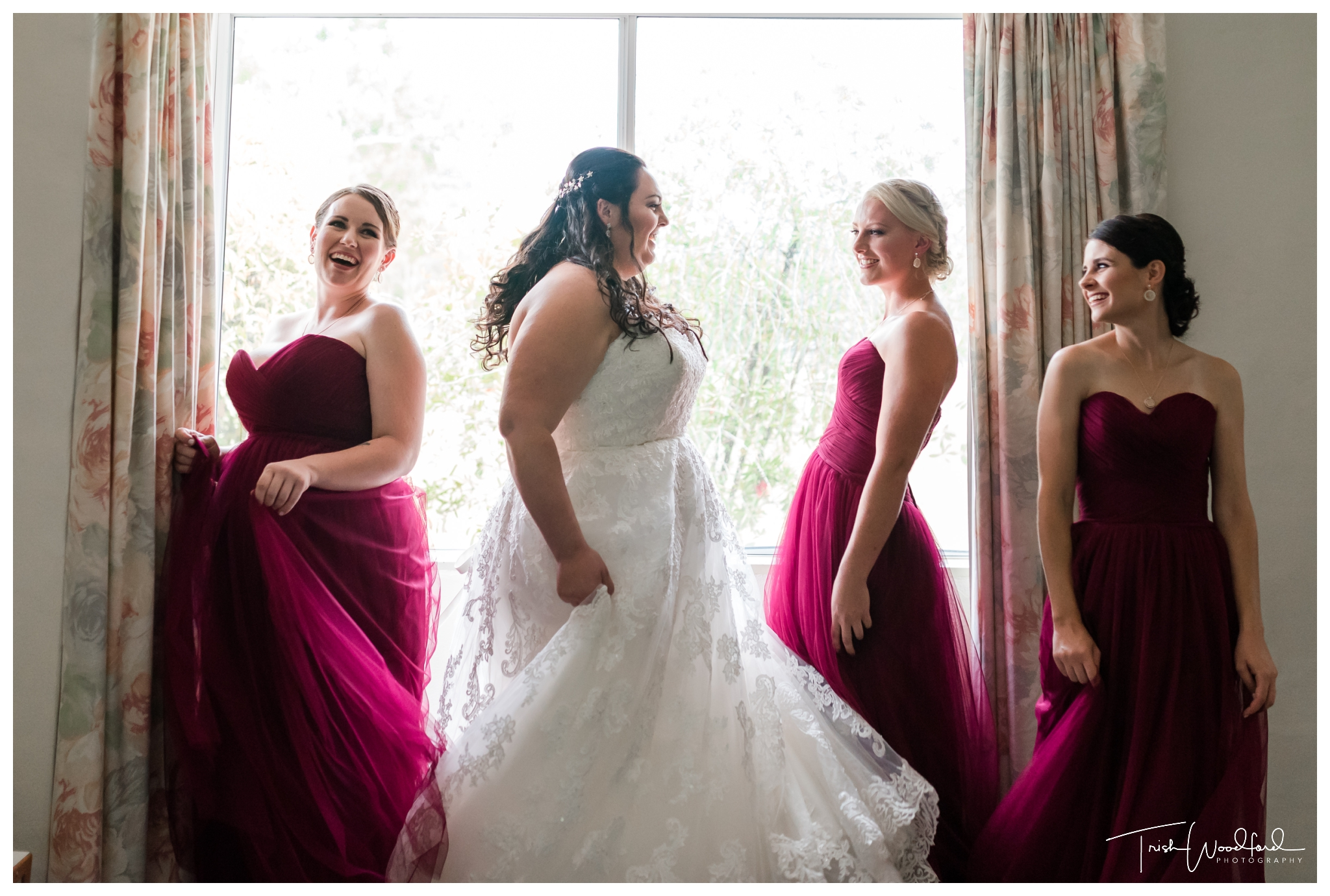 Bride and Bridesmaids Mandurah