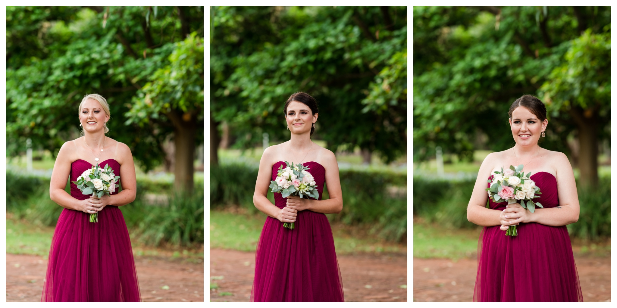 bridesmaids pinjarra wedding