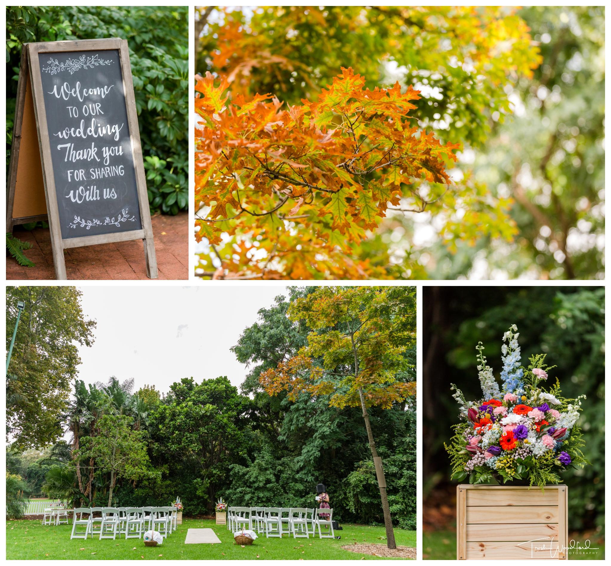 perth zoo wedding ceremony