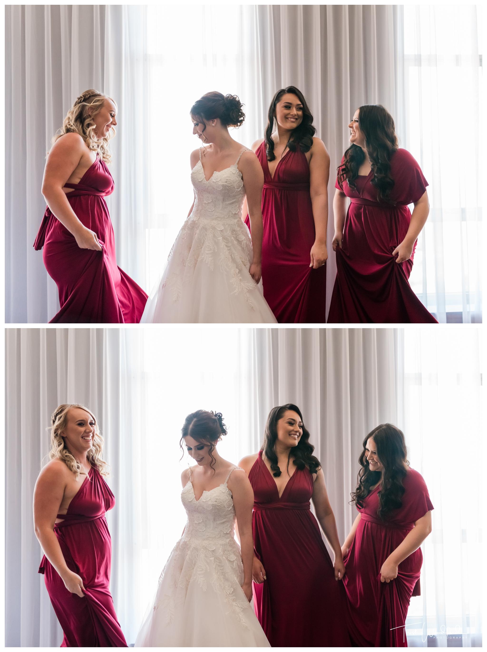 Bride-Bridesmaids-Duxton-Wedding