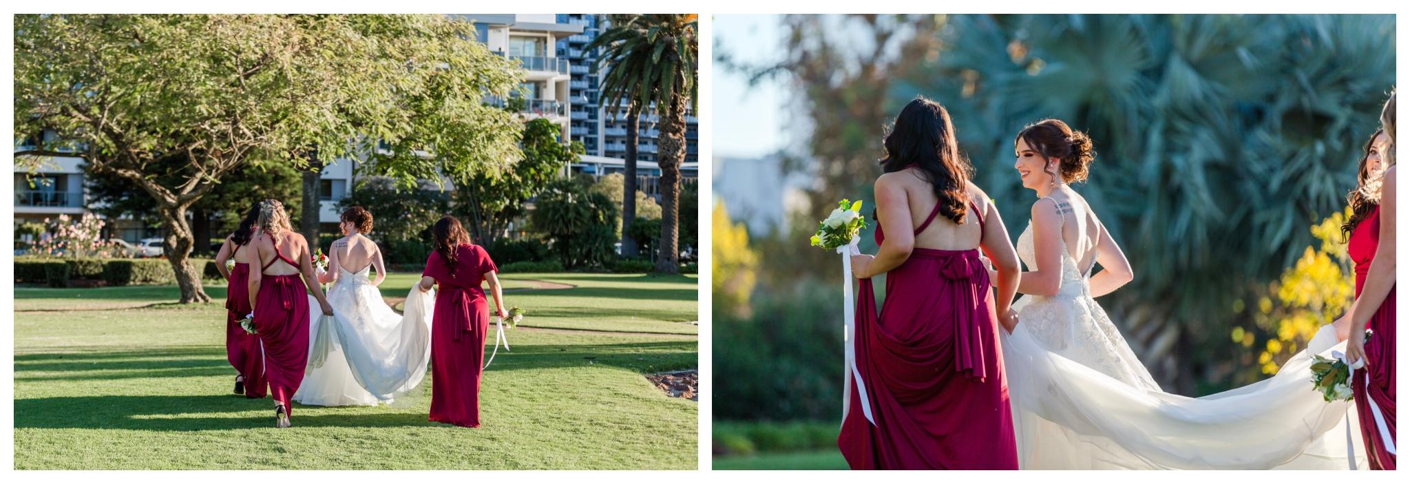bridal-party-queens-gardens