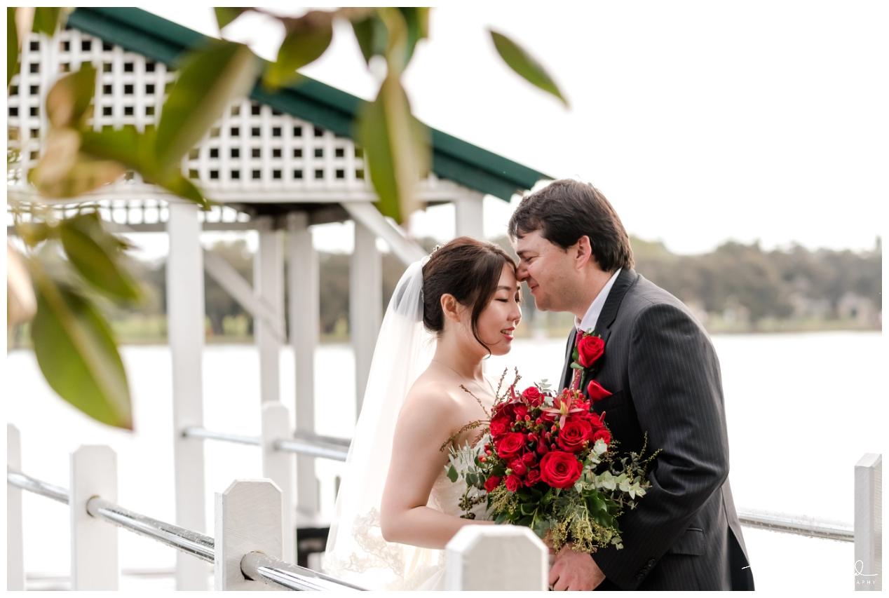 Bride and Groom Mandurah Wedding