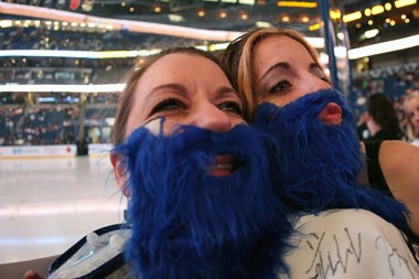 Grow a beard for the Tampa Bay Lightning